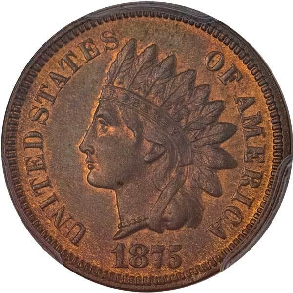 sample image for 1875 P1c (J-1383) PR BN