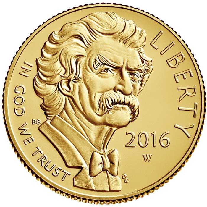 sample image for 2016-W Mark Twain $5  MS