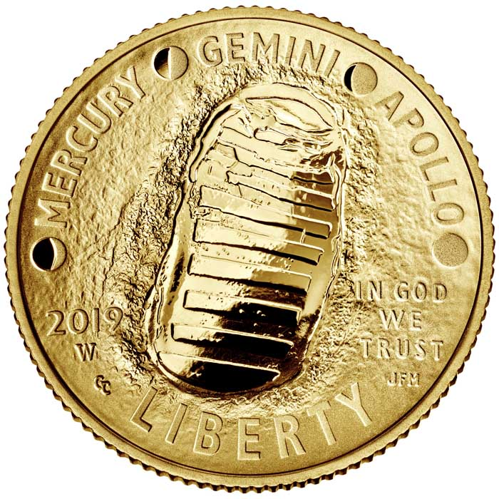 sample image for 2019-W Apollo 11 $5  PR DCAM