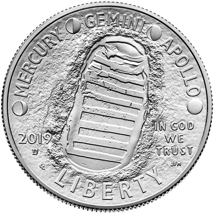 sample image for 2019-D Apollo 11 50c MS