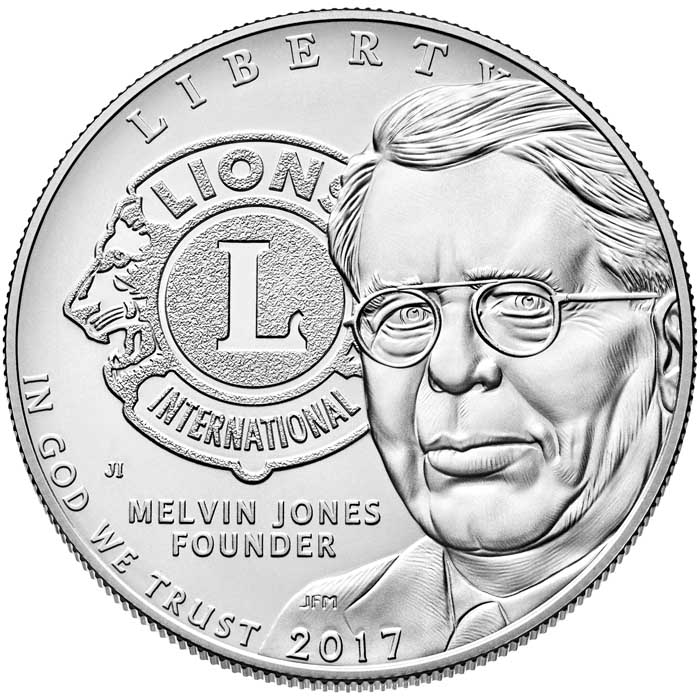 sample image for 2017-P Lions Club $1  MS