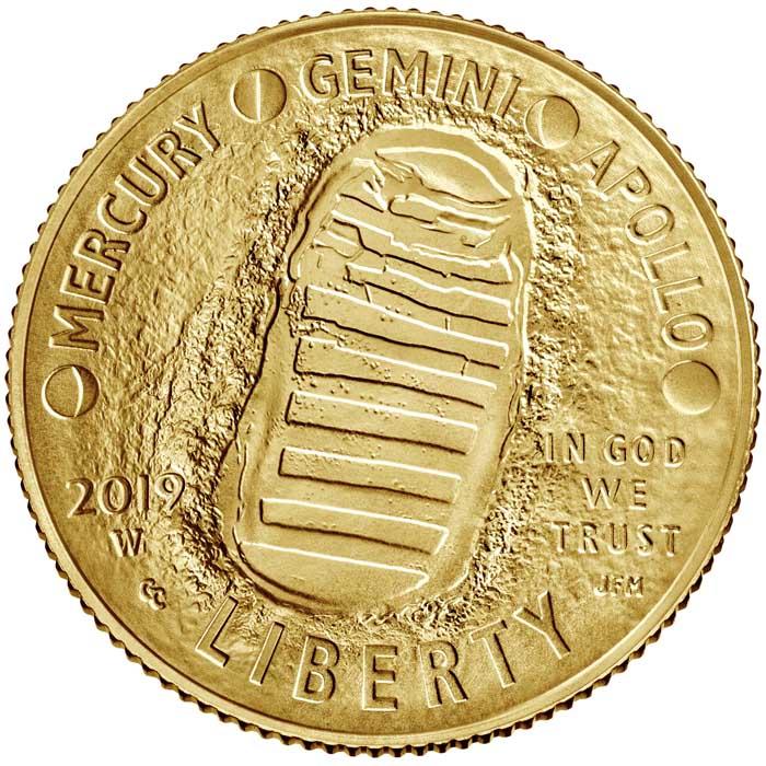sample image for 2019-W Apollo 11 $5  MS