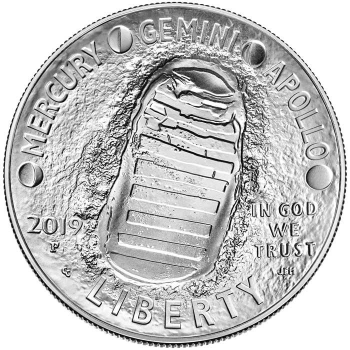 sample image for 2019-P Apollo 11 $1  MS