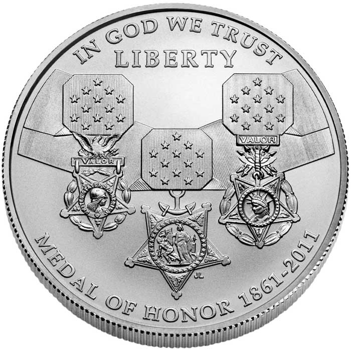 sample image for 2011-S Medal of Honor $1  MS