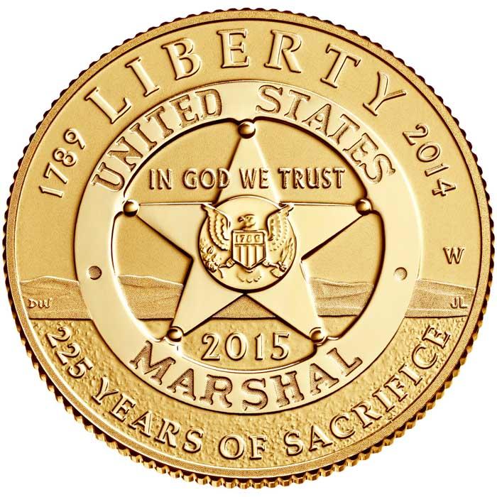 sample image for 2015-W U.S. Marshals Service $5  PR DCAM