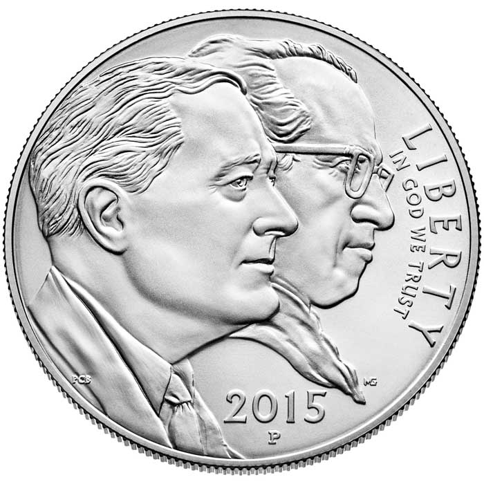 sample image for 2015-P March of Dimes $1  MS