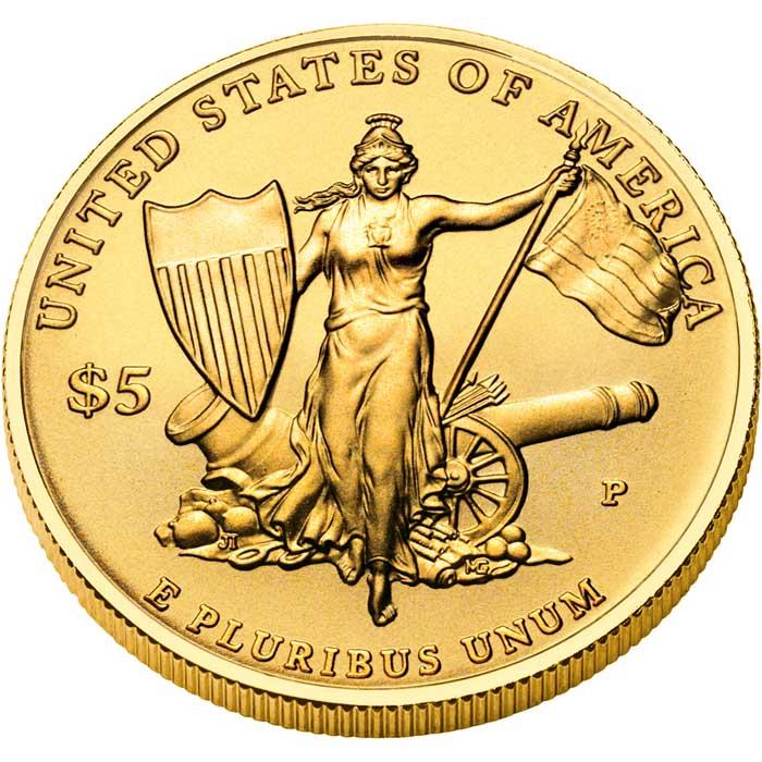 sample image for 2011-P Medal of Honor $5  MS