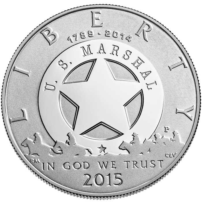 sample image for 2015-P U.S. Marshals Service $1  PR DCAM