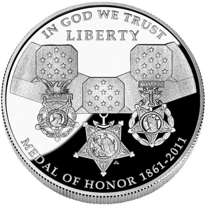 sample image for 2011-P Medal of Honor $1  PR DCAM