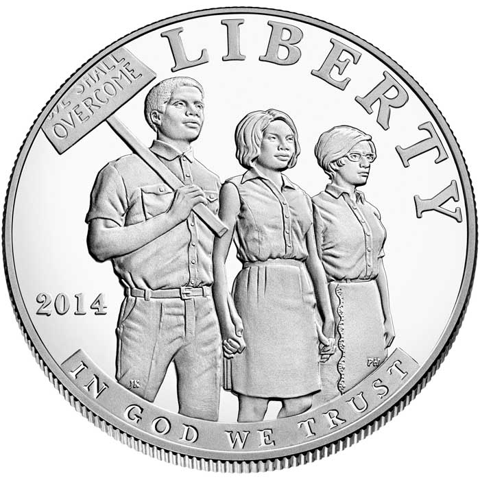 sample image for 2014-P Civil Rights Act $1  PR DCAM