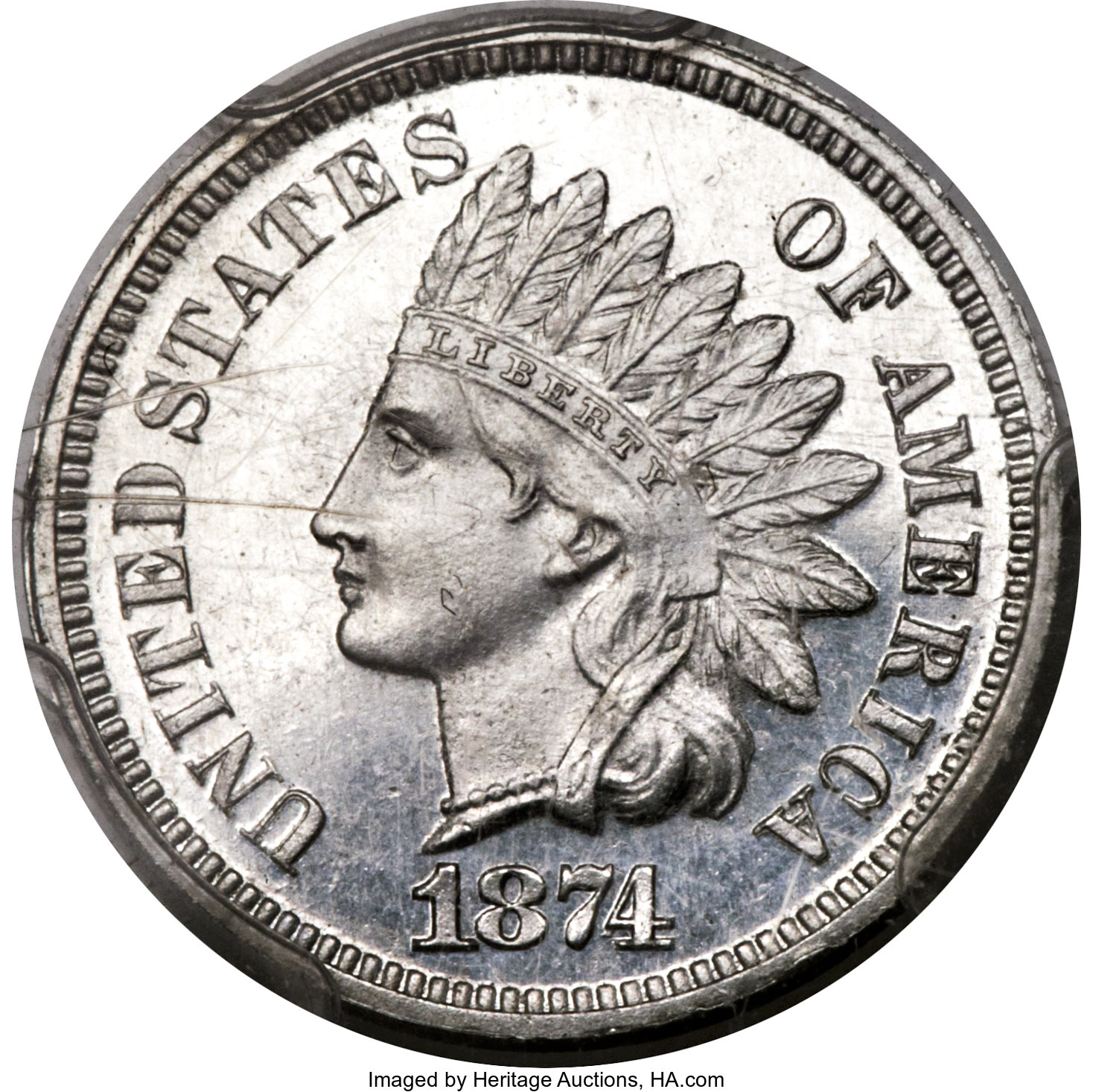 sample image for 1874 P1c (J-1347) PR