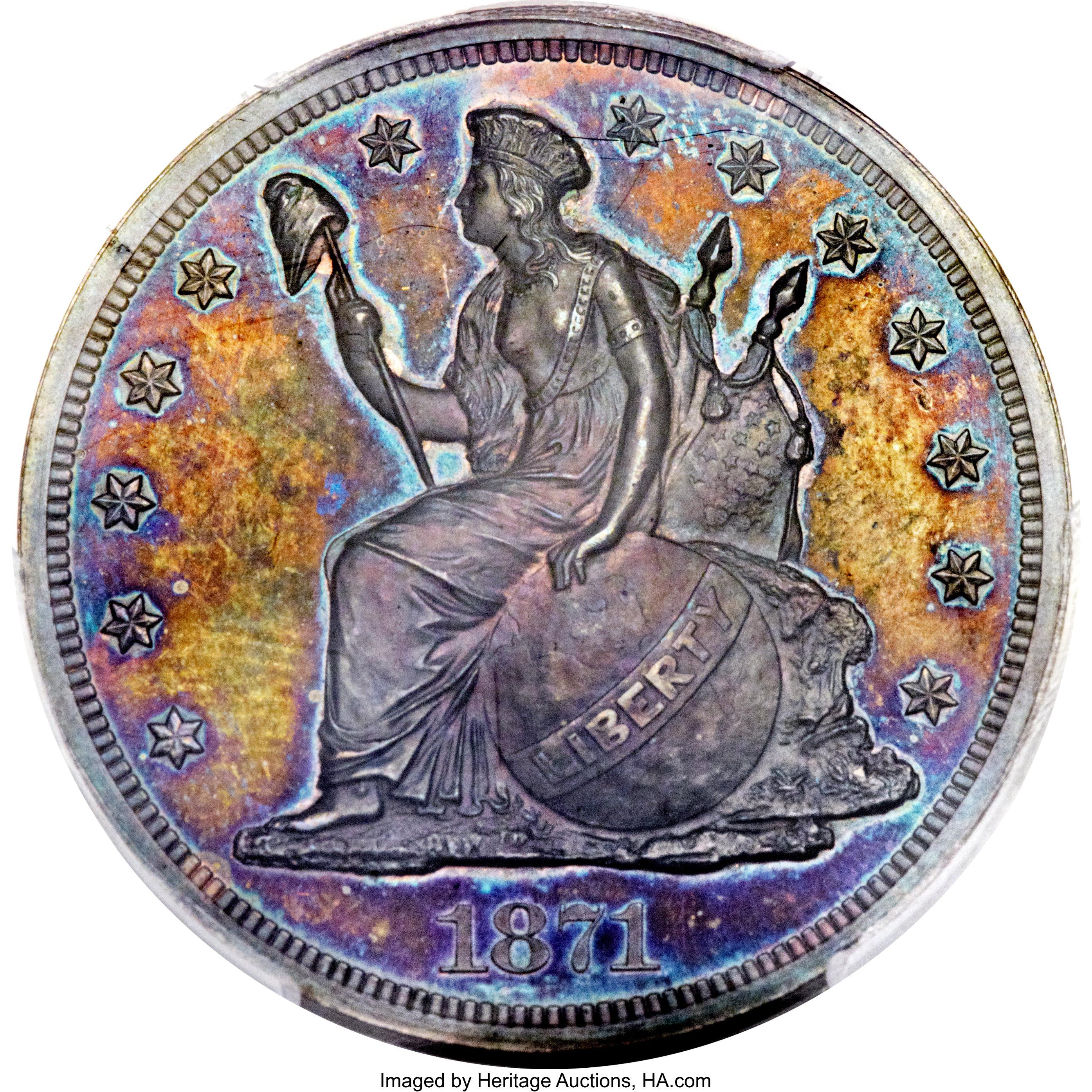 sample image for 1871 P$1 (J-1148) PR BN