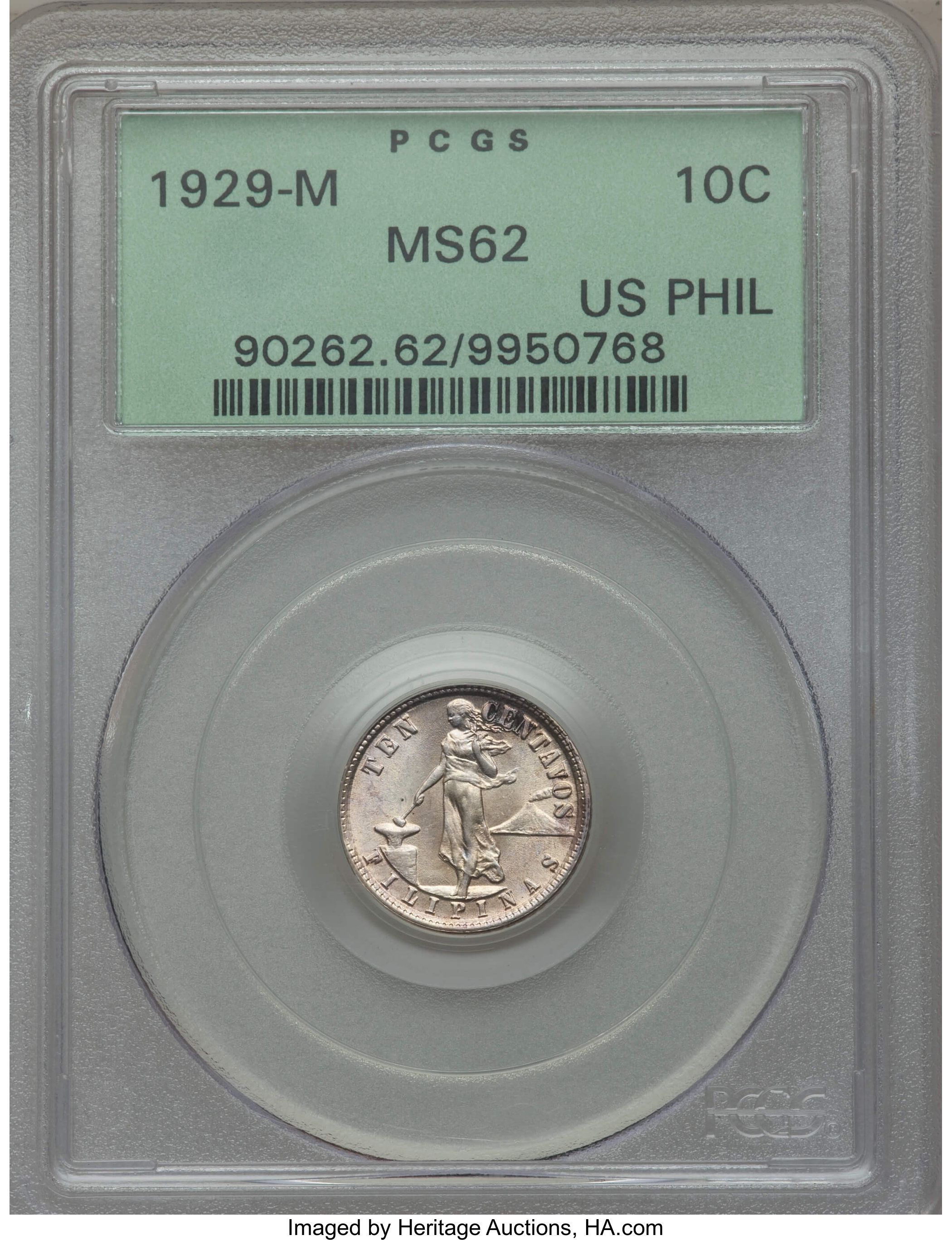 sample image for 1929-M 10c MS