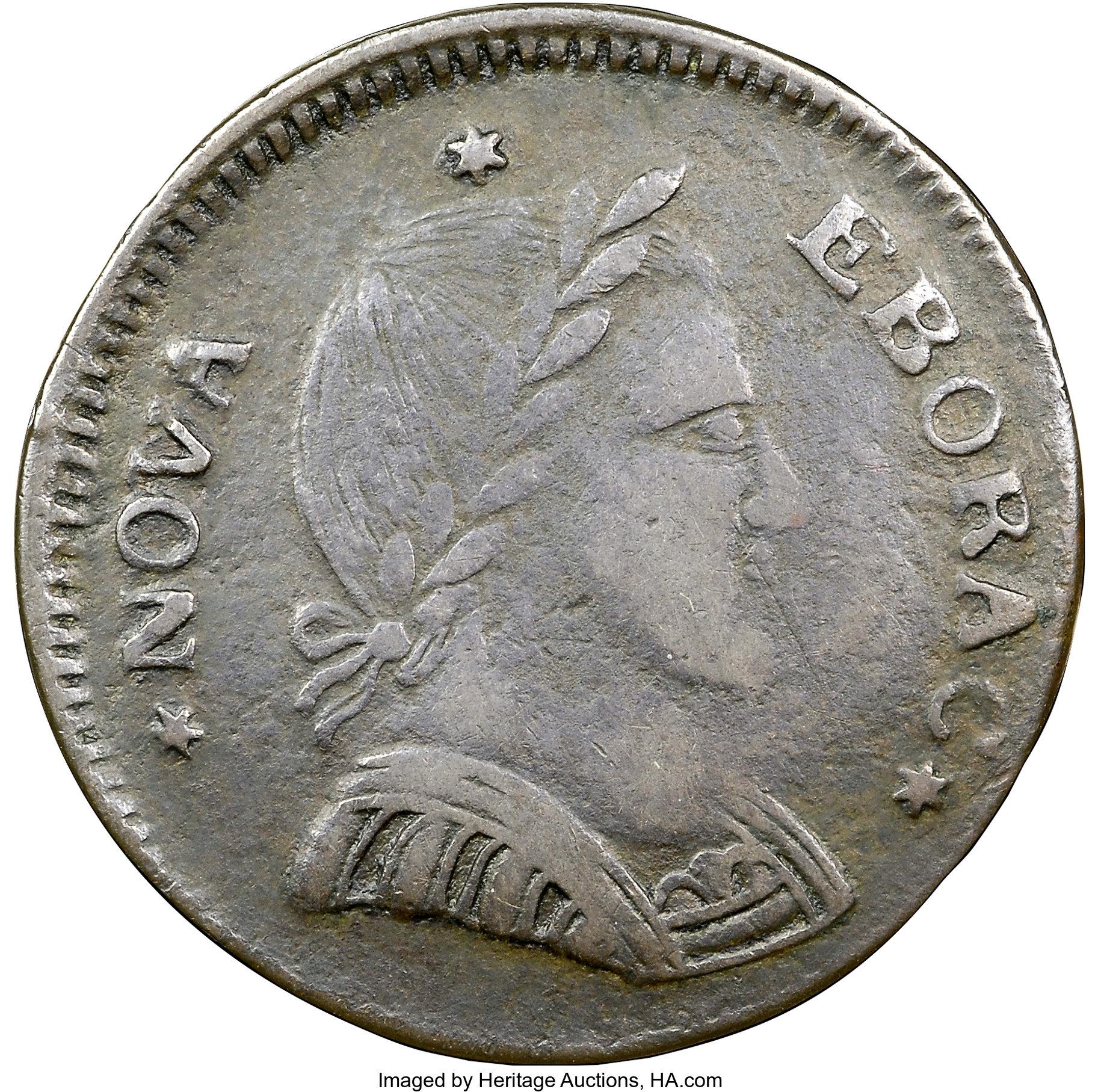 sample image for 1787 Nova Eborac, Small Head BN
