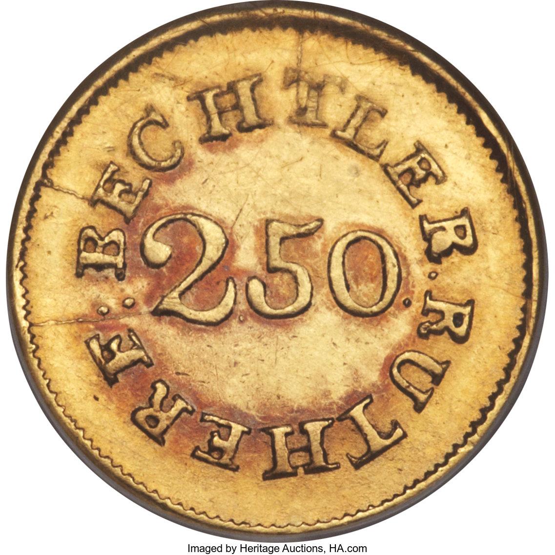 sample image for C.Becht $2 1/2 Even 22 (K-12)