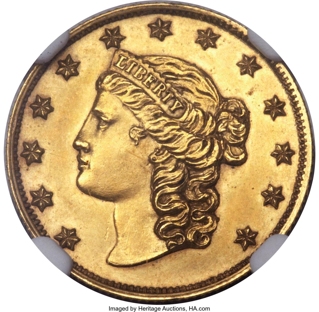 sample image for 1851 California $2 1/2