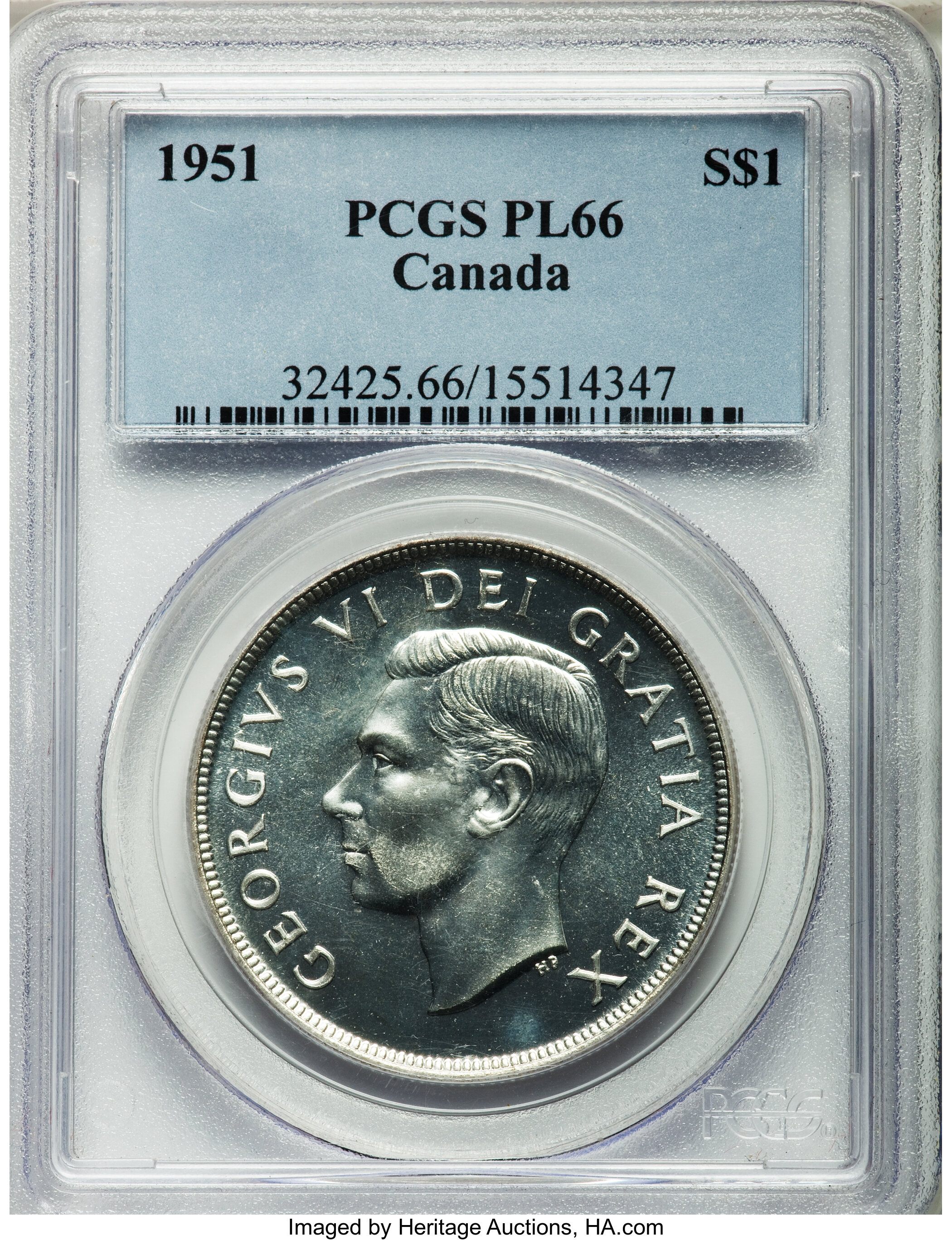 sample image for 1951 Proof Like
