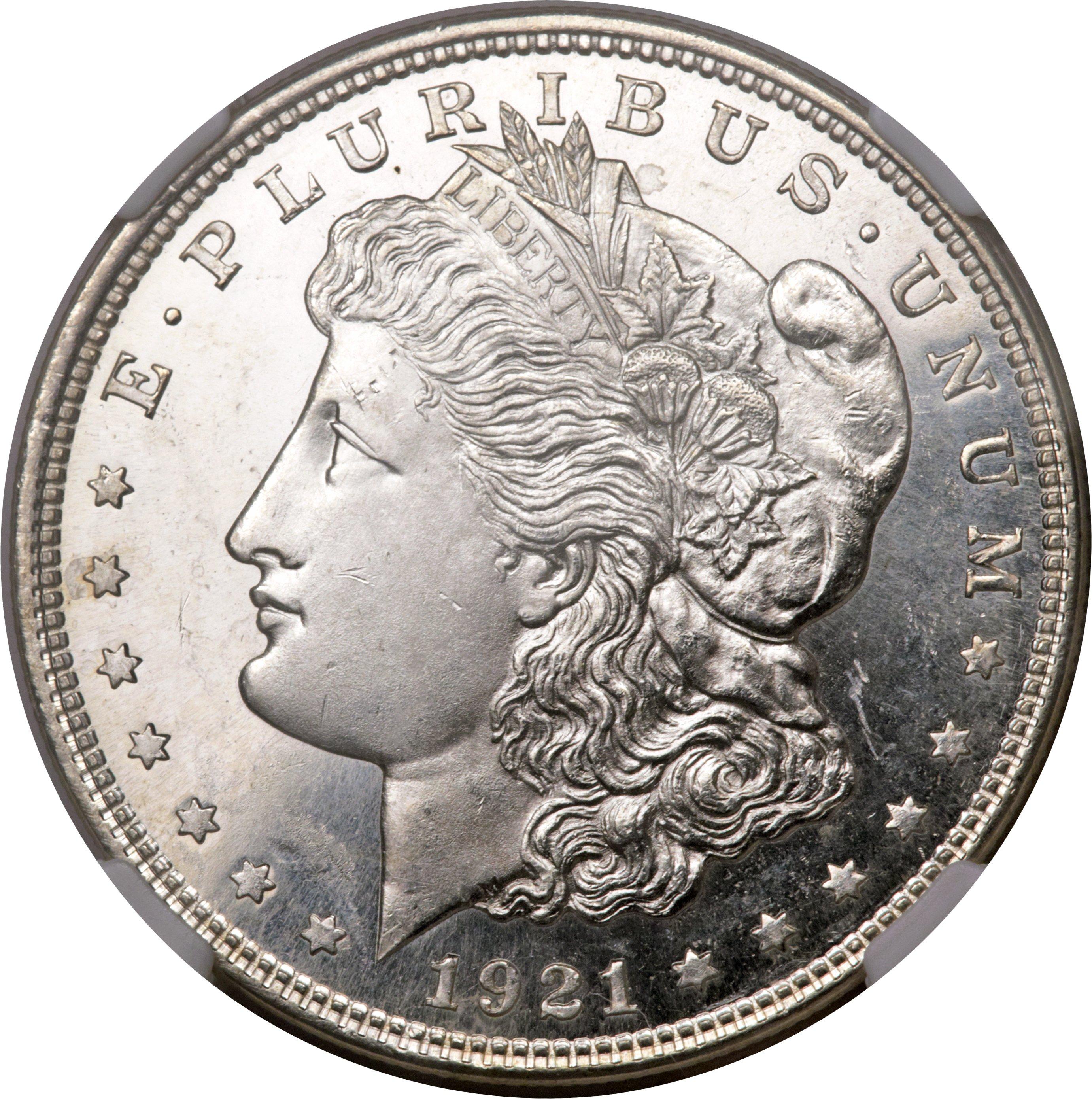 sample image for Morgan Dollar $1  MS DMPL Type 1921 [Type]