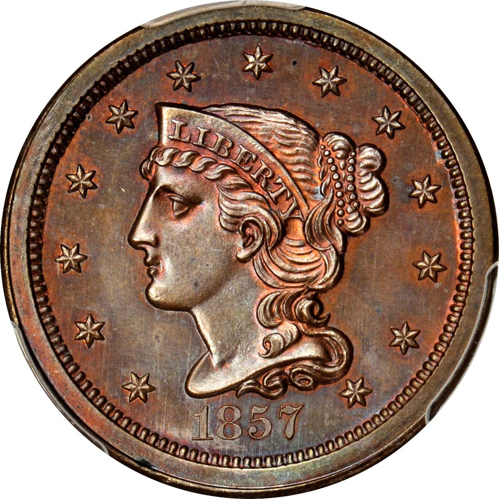 sample image for 1857 Small Date RB