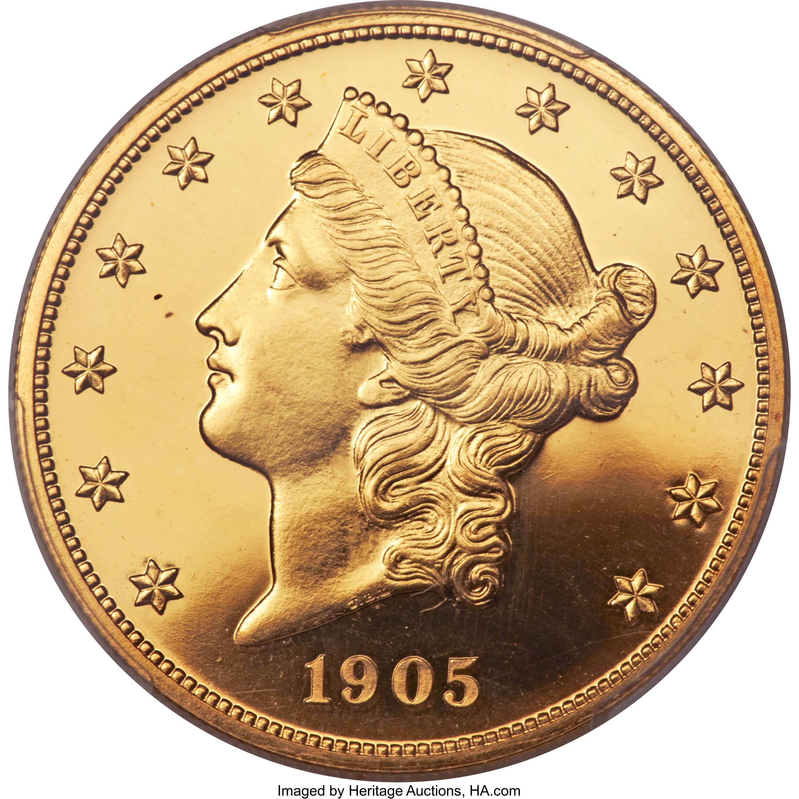 sample image for 1905 $20  PR CAM