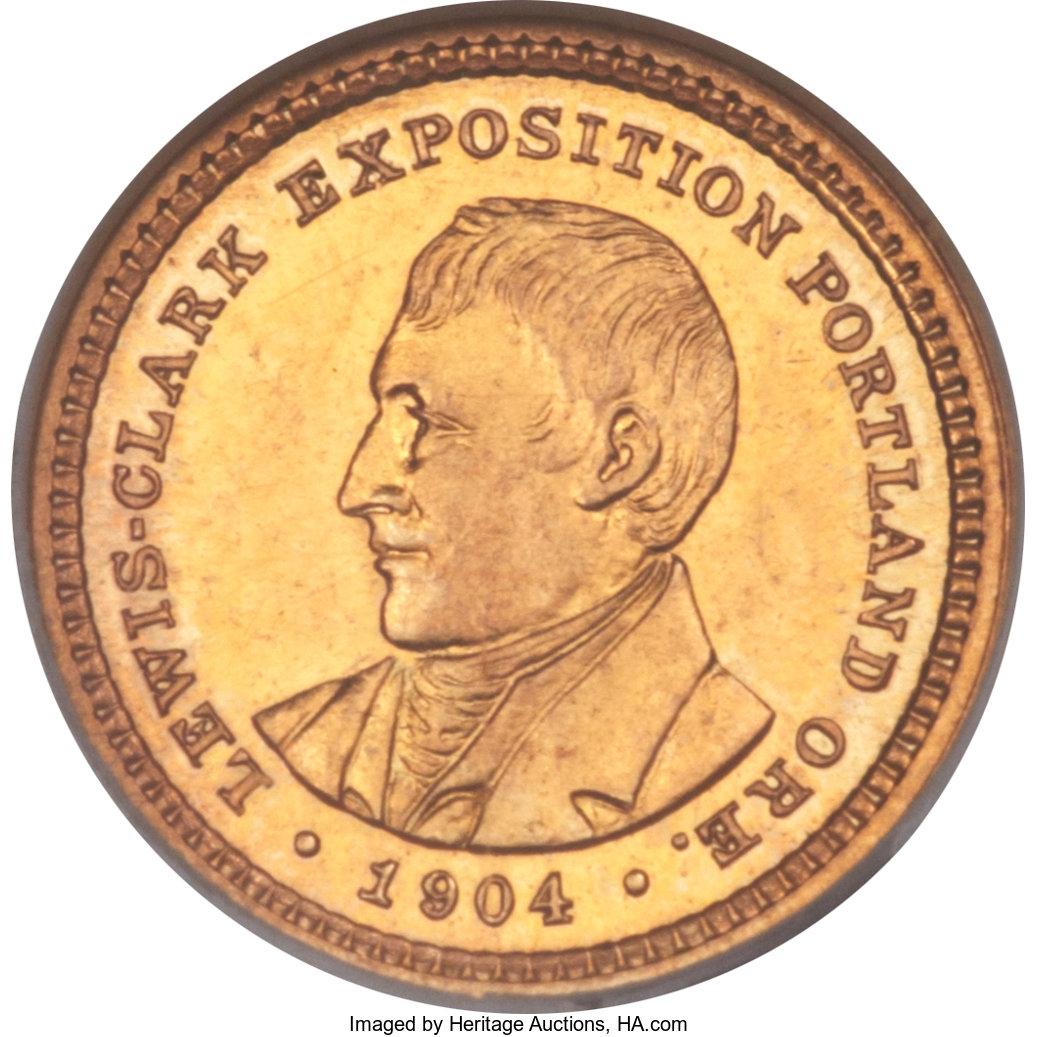 sample image for 1904 Lewis & Clark G$1 PR
