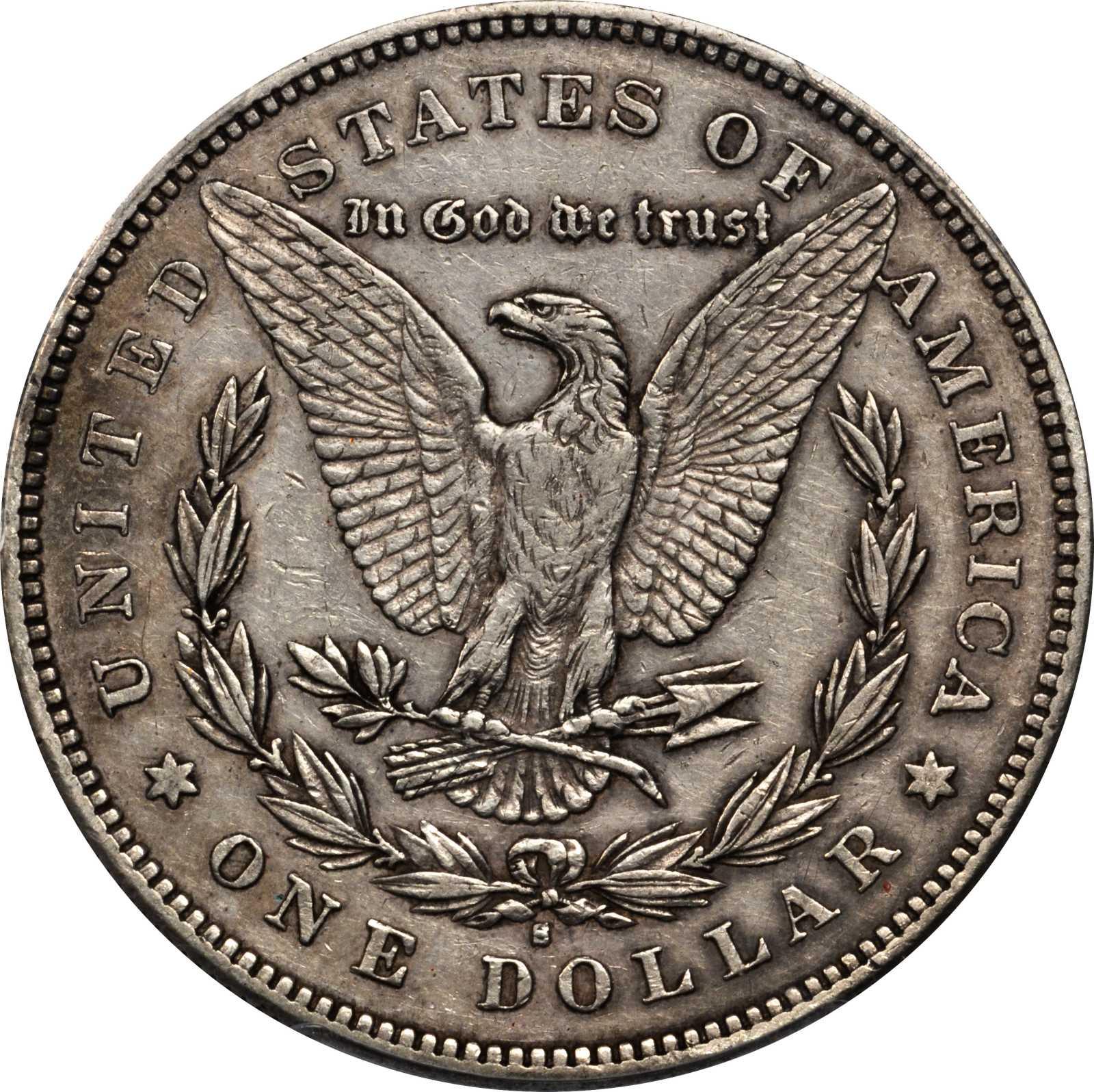 sample image for 1878-S $1  MS VAM-60, Long Arrow Shaft