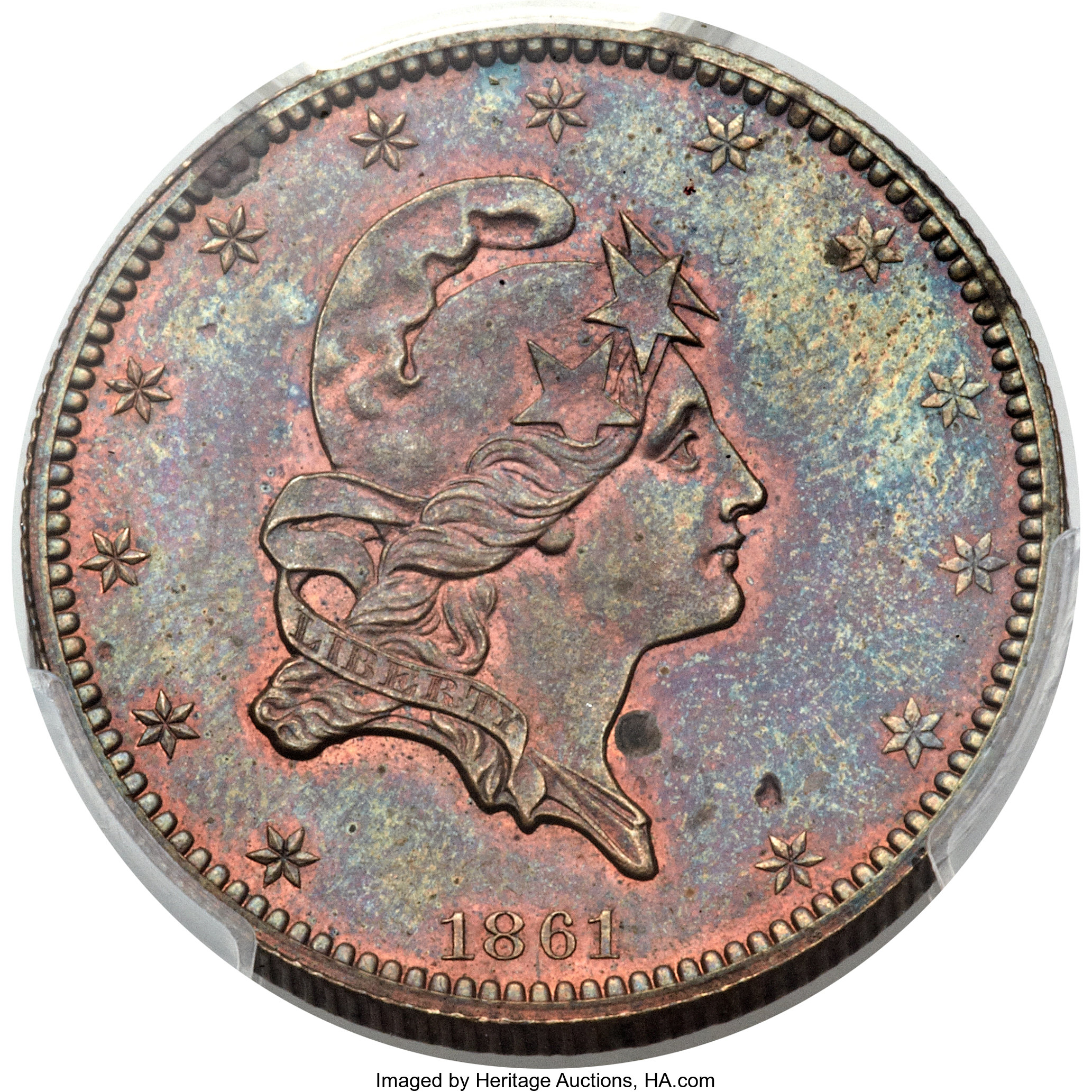 sample image for 1861 J-283 P$5 PR BN
