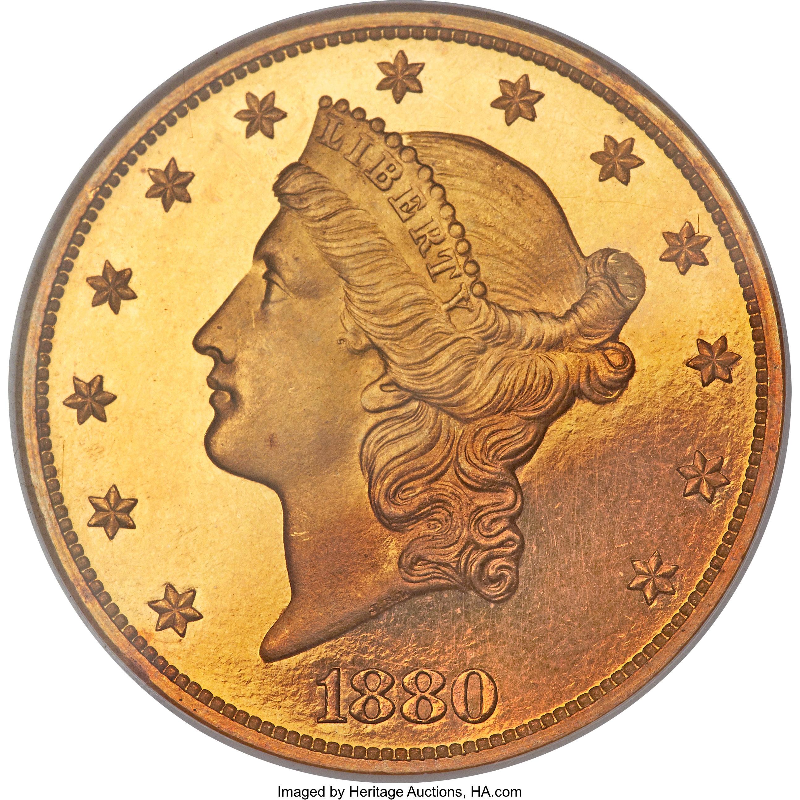 sample image for 1880 $20  PR CAM