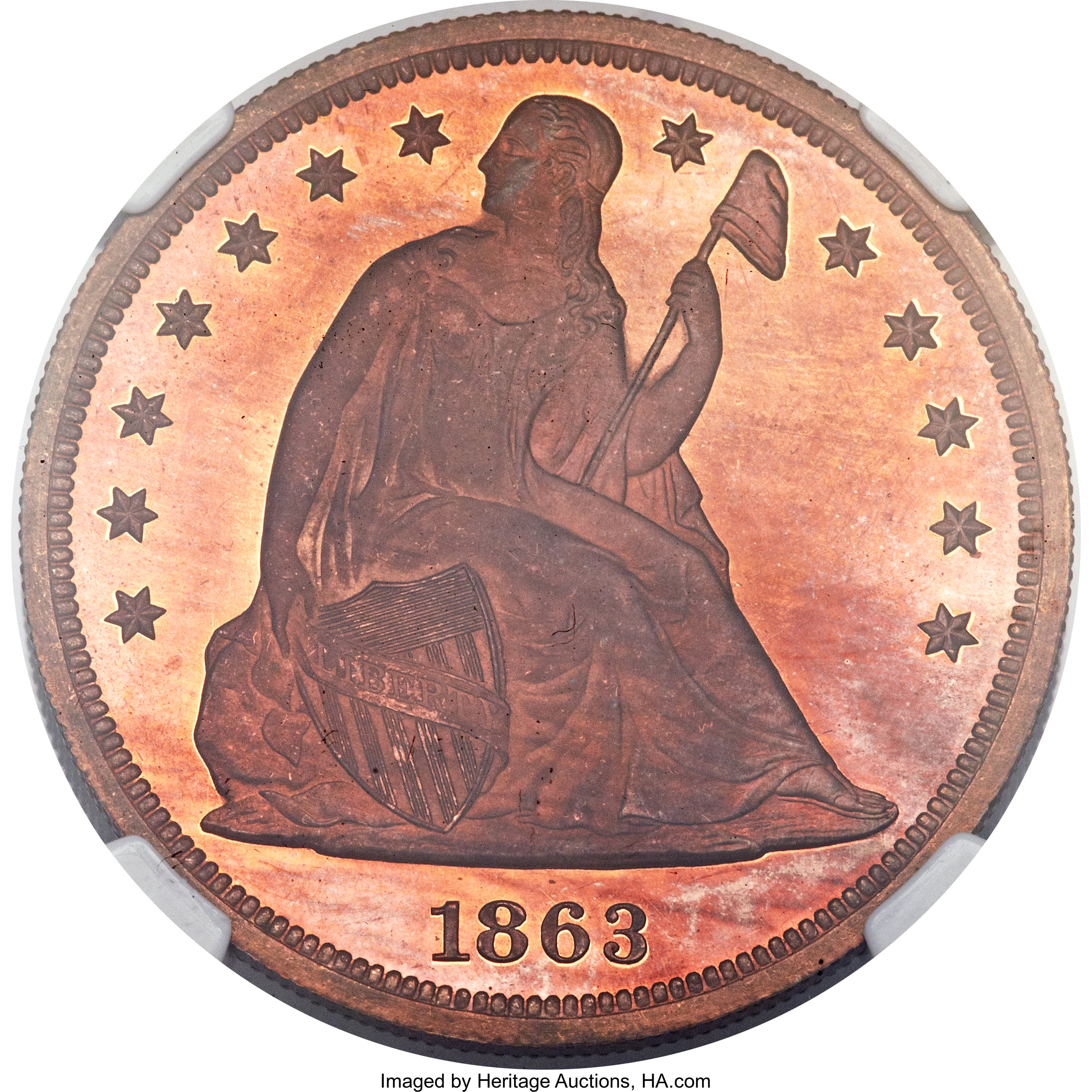 sample image for 1863 J-346 P$1 PR RD