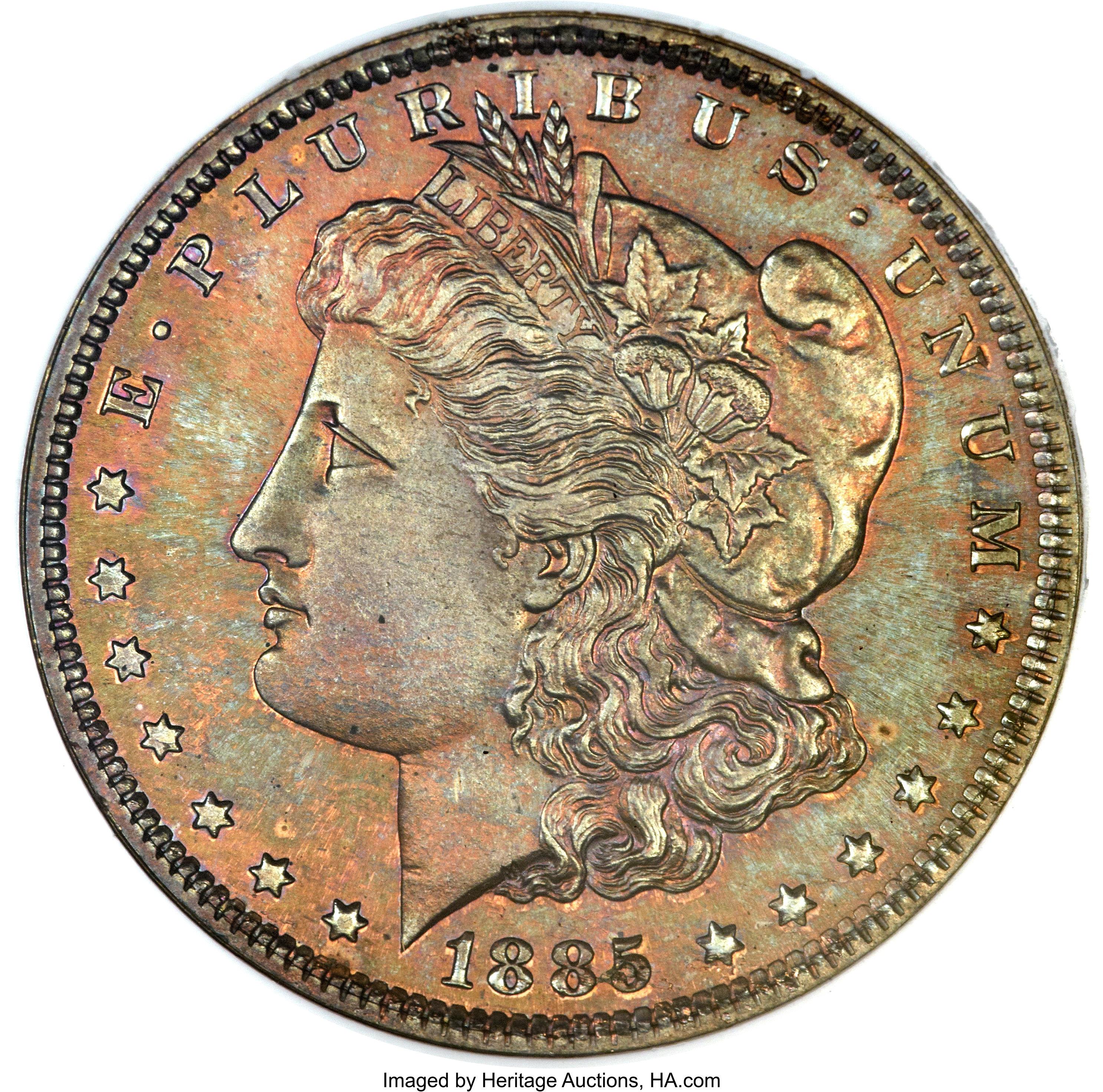 sample image for 1885 J-1748 P$1 PR BN