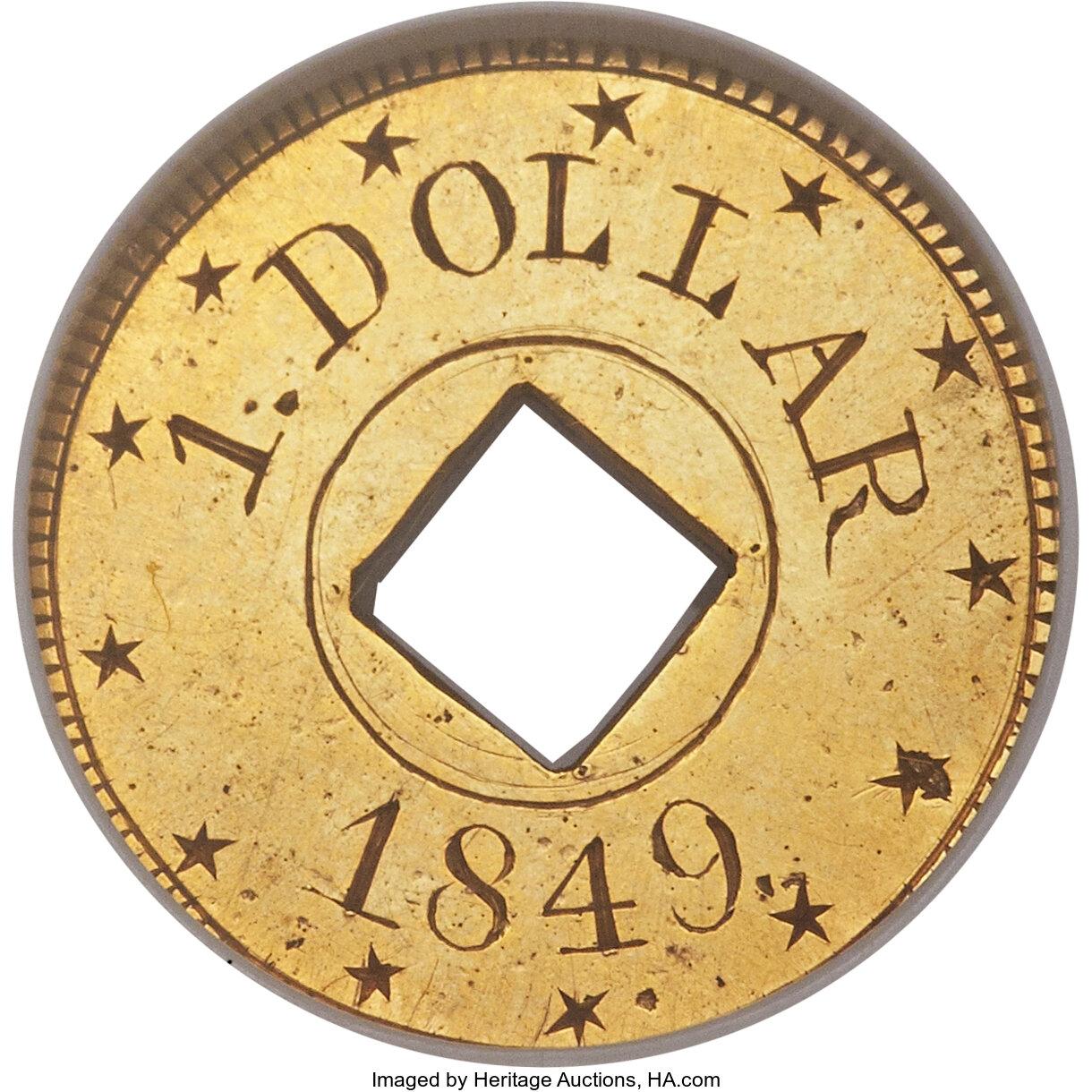 sample image for 1849 J-115 PG$1 PR