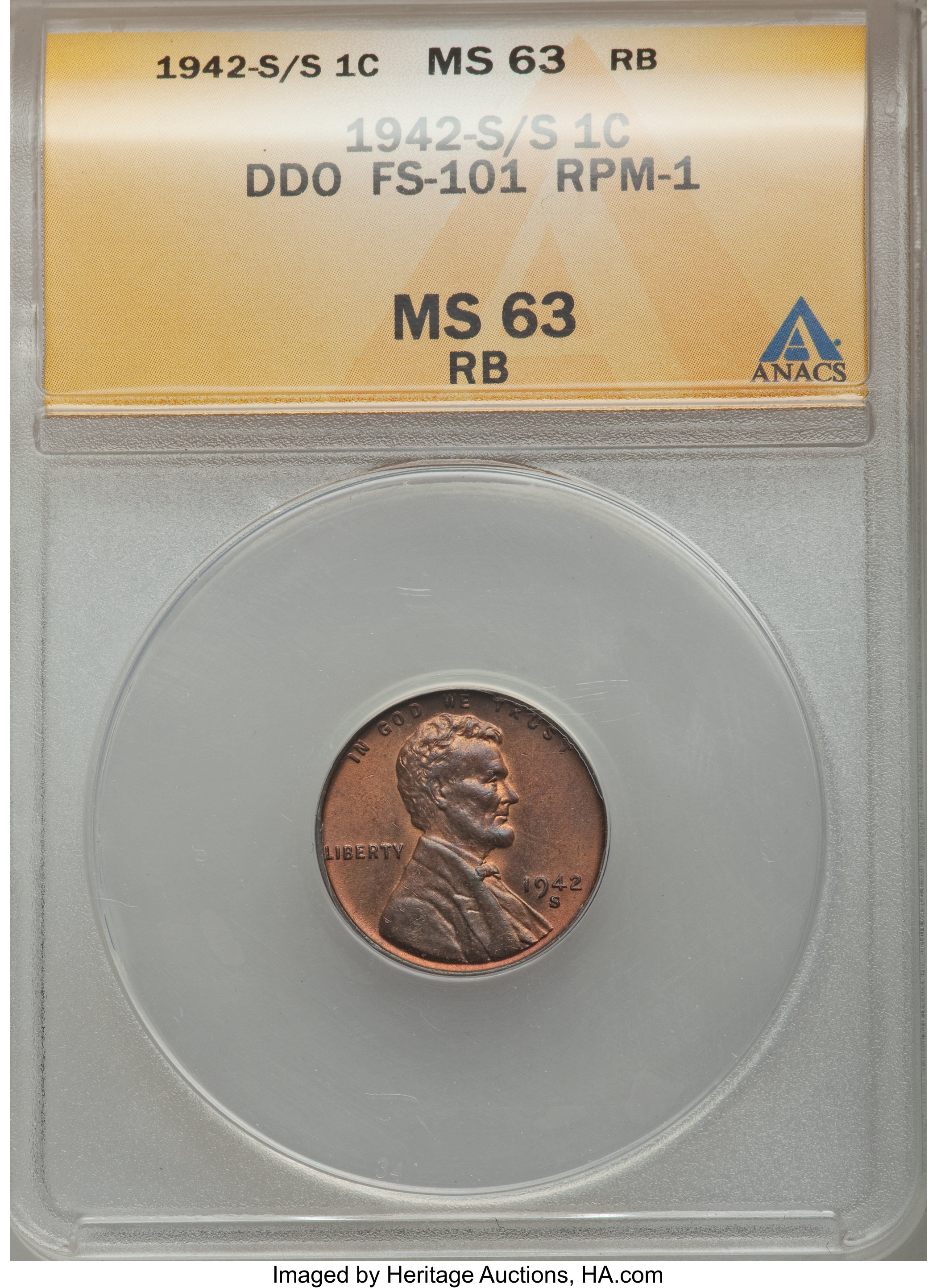 sample image for 1942-S  RB