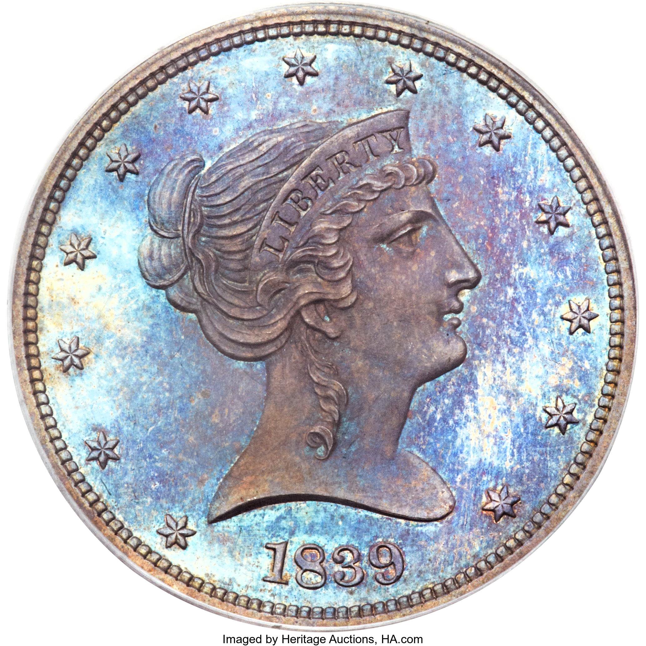 sample image for 1839 J-93, Original P50c PR