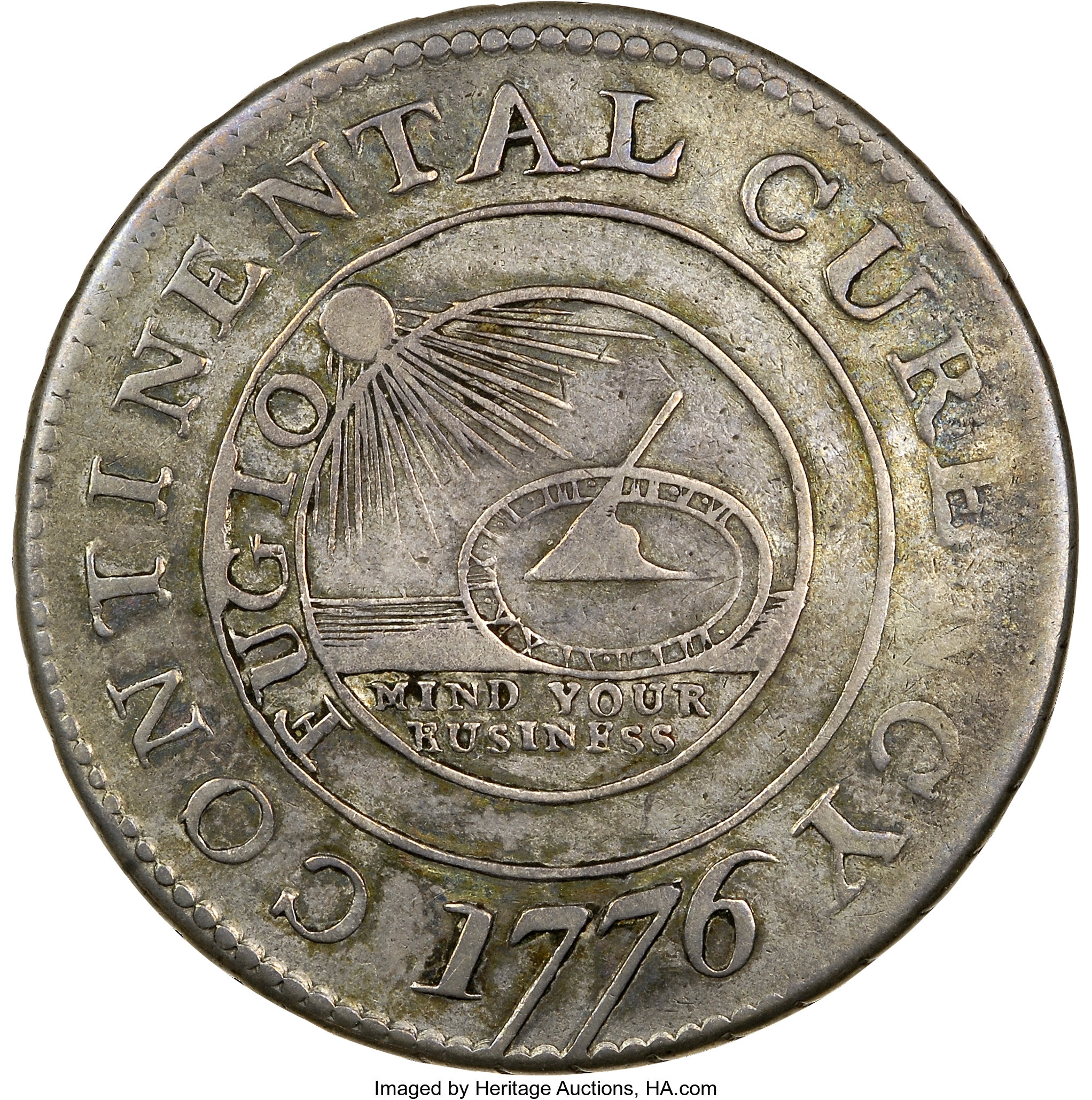 sample image for 1776 Cont Dollar, CURENCY, Silver