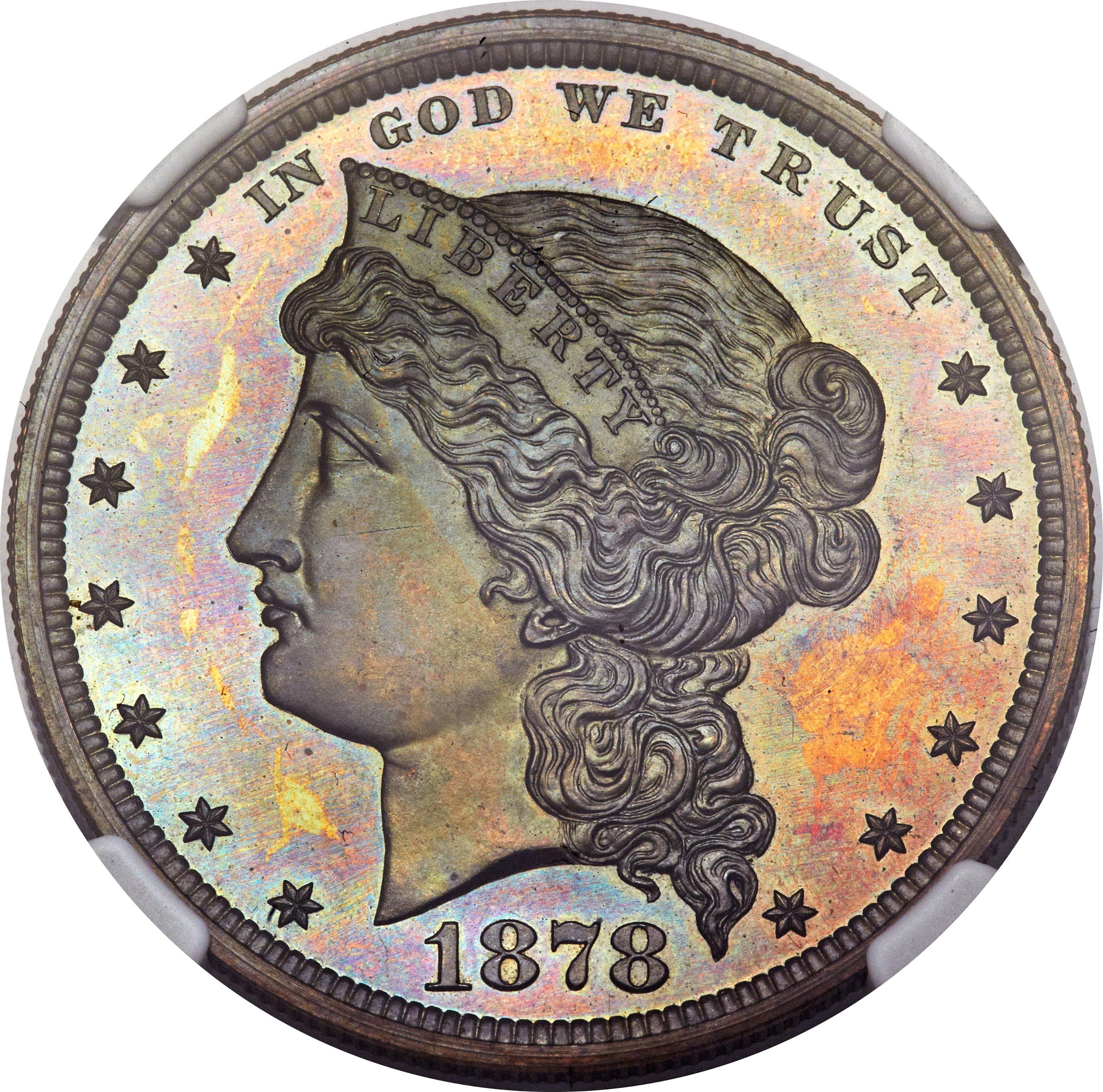 sample image for 1878 J-1555 P$1 PR BN