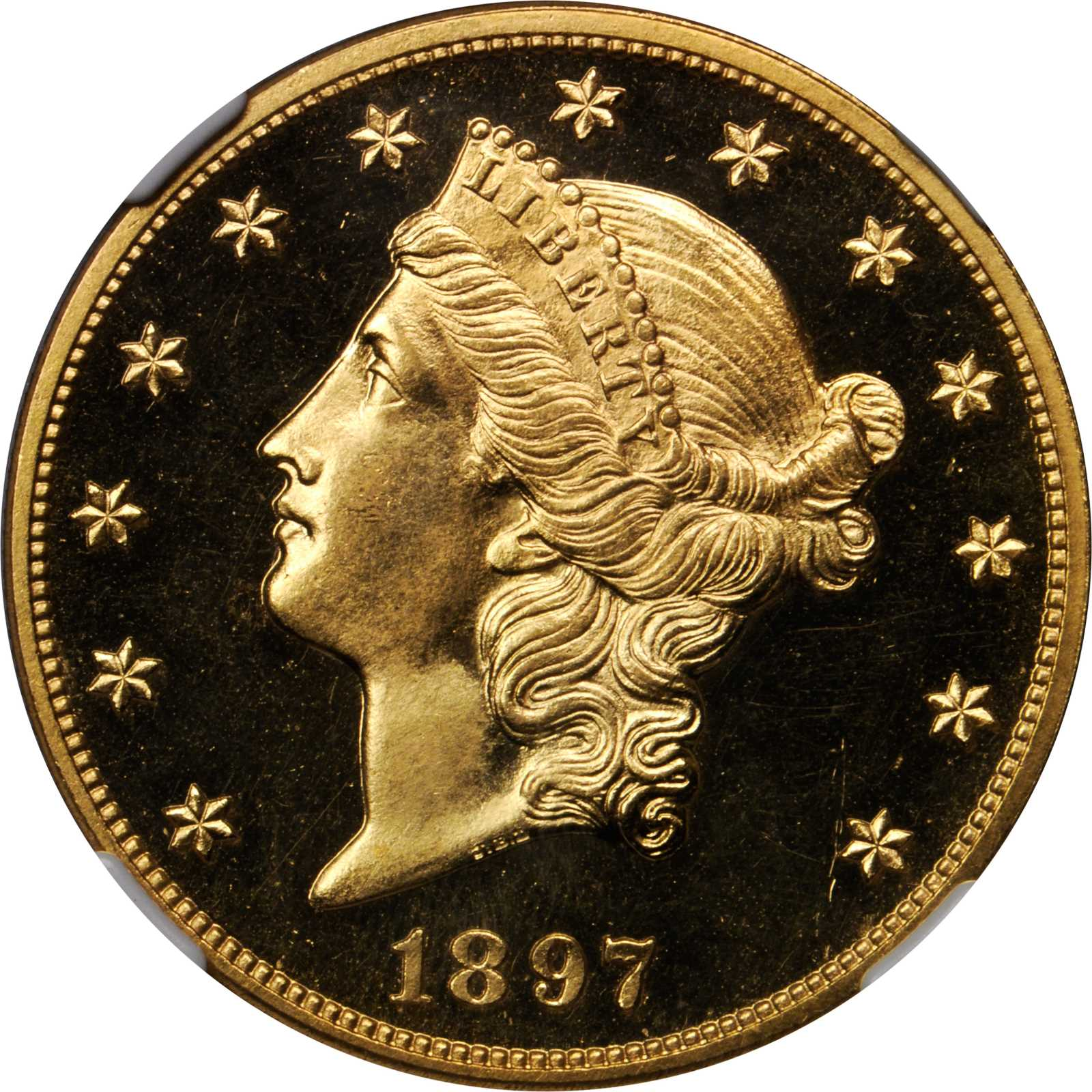 sample image for 1897 $20  PR CAM