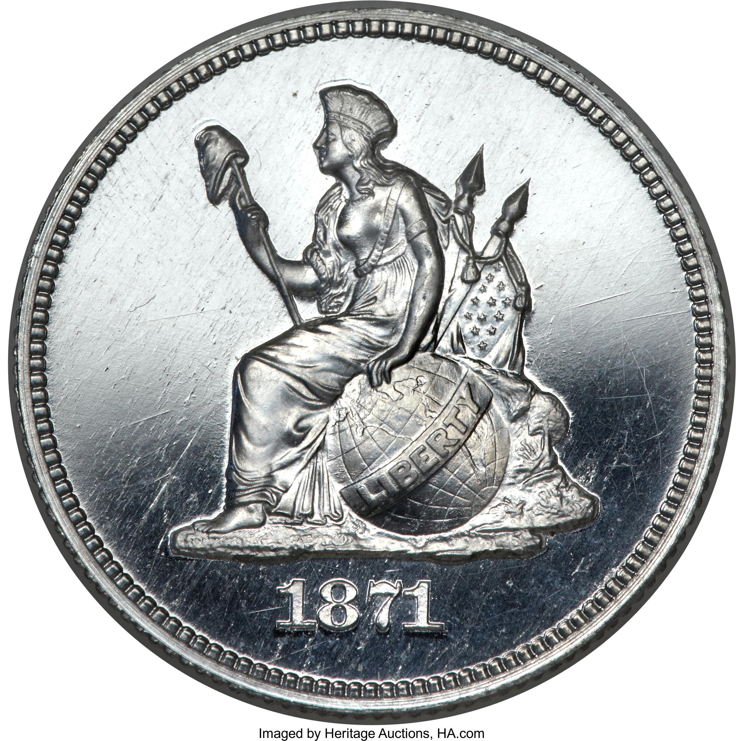 sample image for 1871 P25c (J-1092) PR