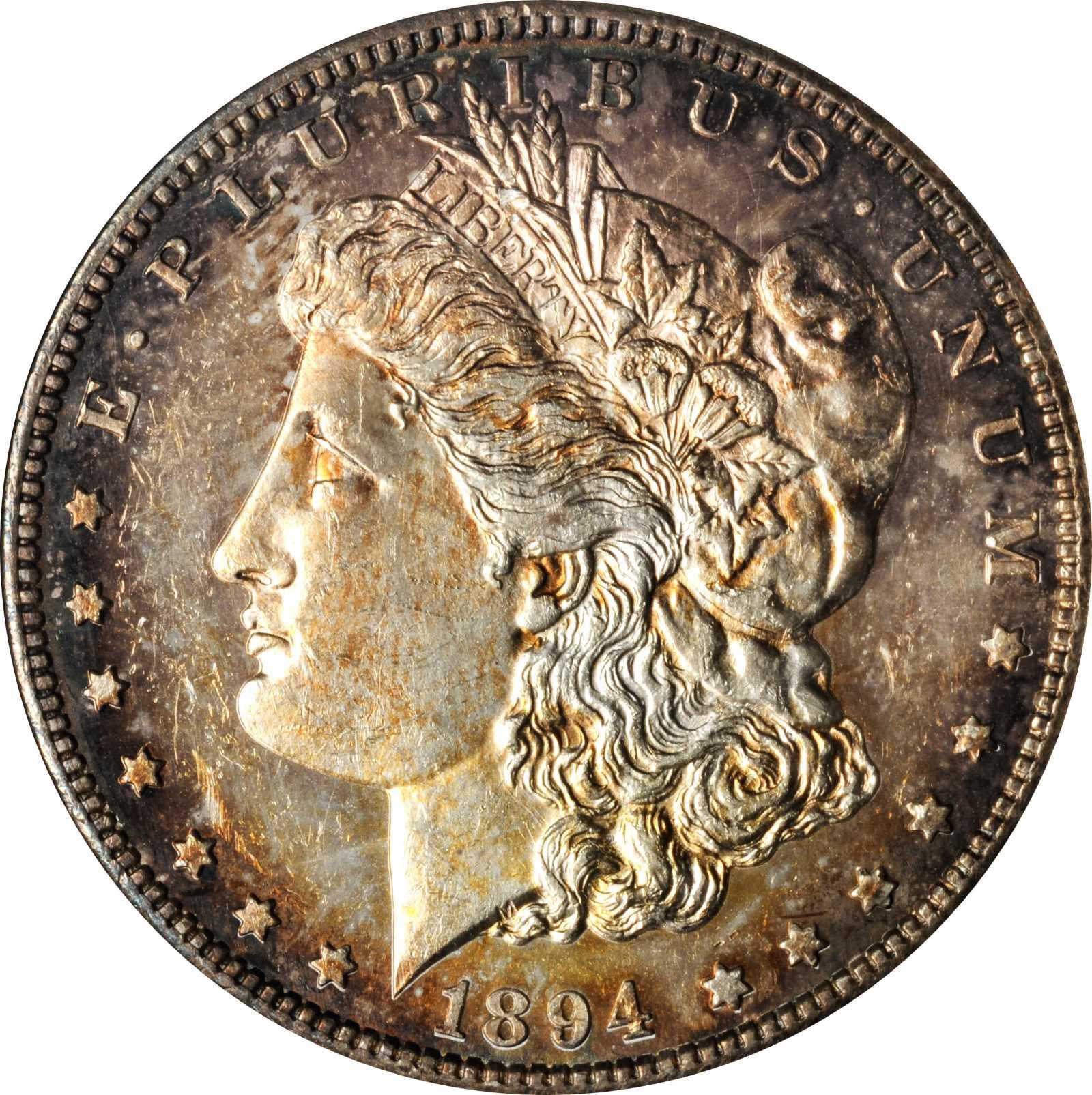 sample image for 1894-S $1  MS DMPL