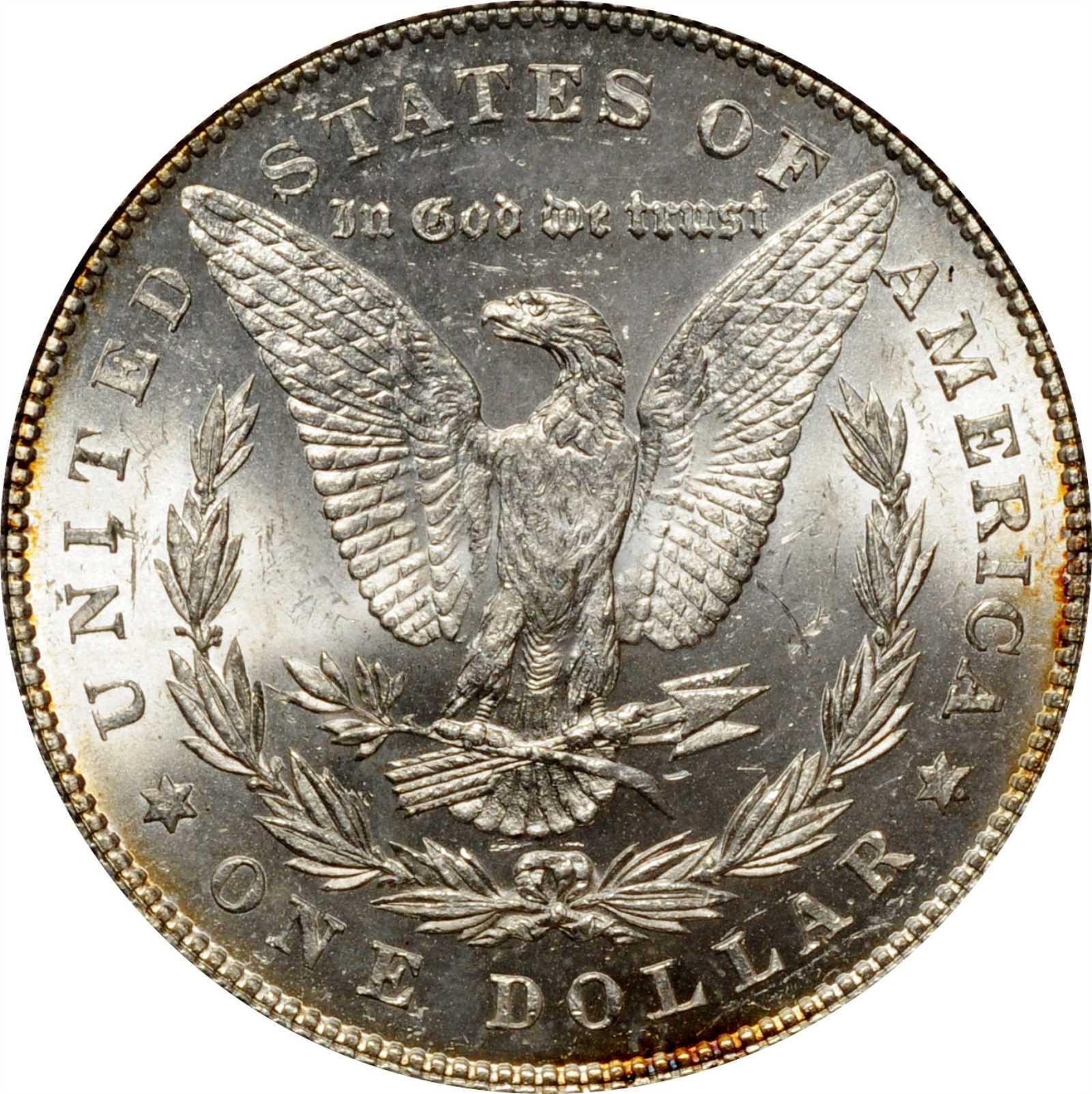 sample image for 1878 7TF Reverse of 1878 $1  MS VAM-162, Broken N&M
