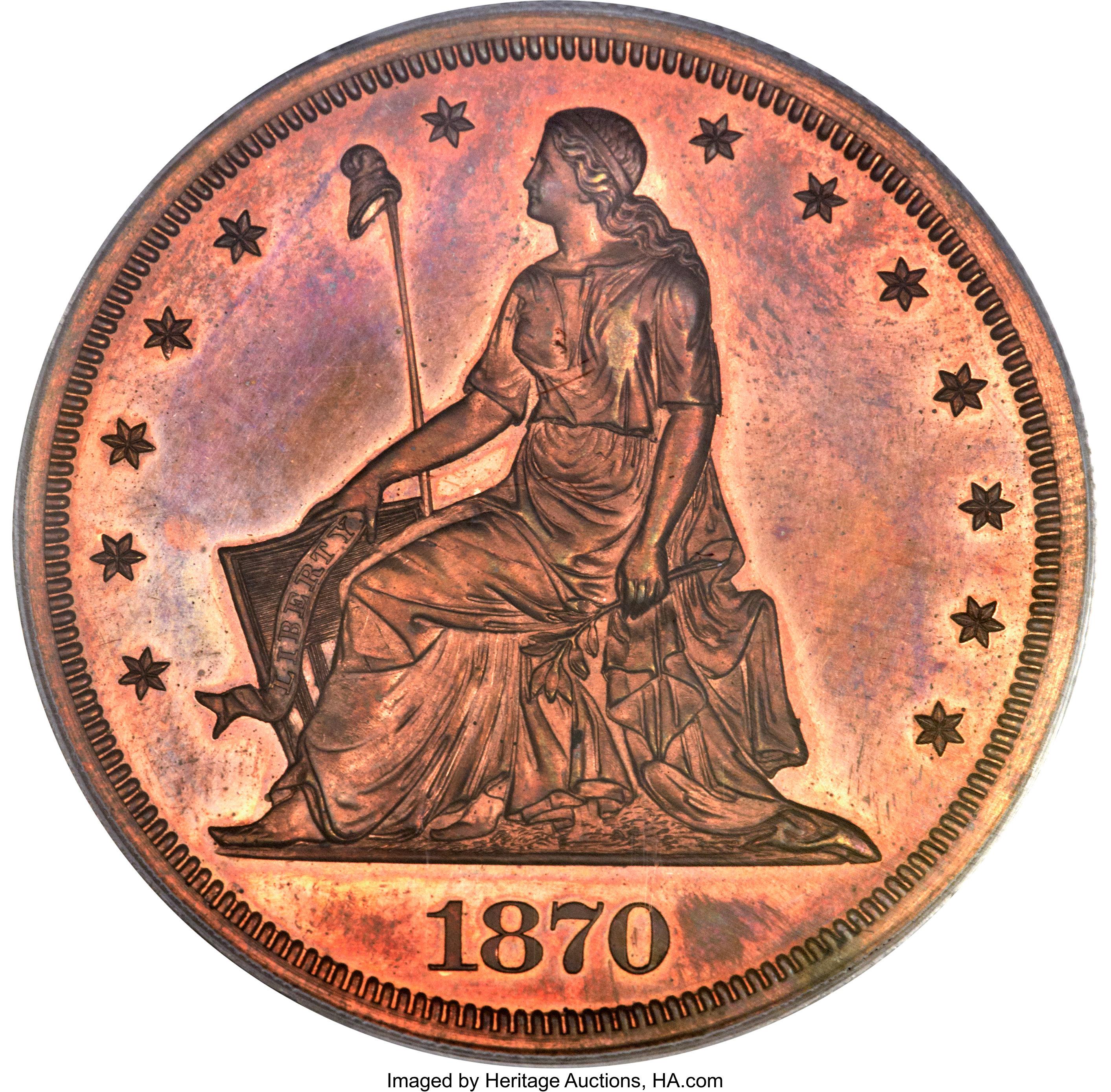 sample image for 1870 P$1 (J-1004) PR RB