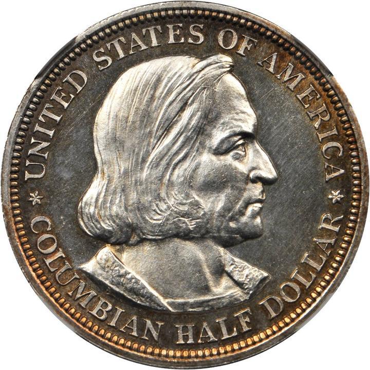 sample image for 1893 Columbian 50c PR