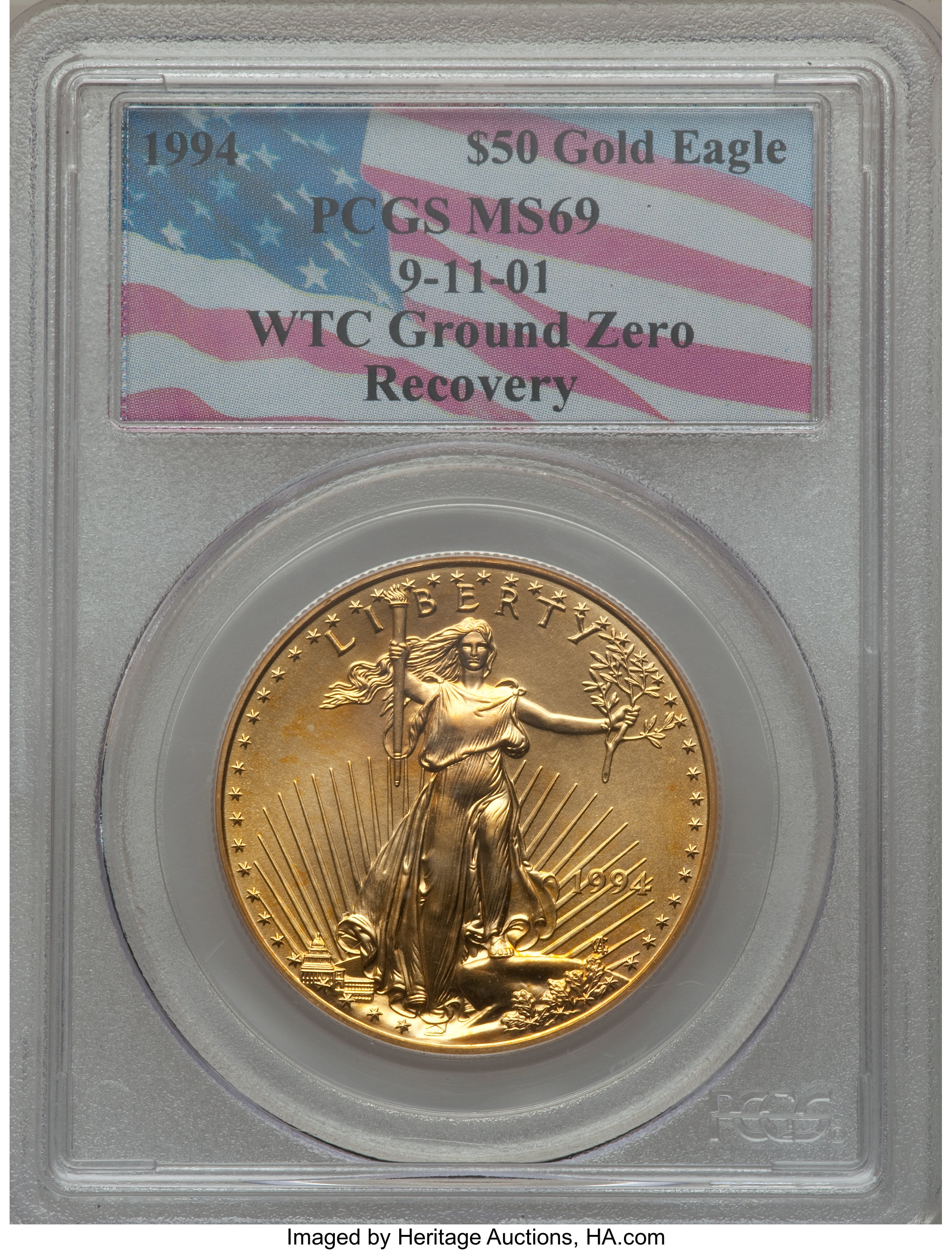 sample image for 1994 Gold Eagle $50  MS