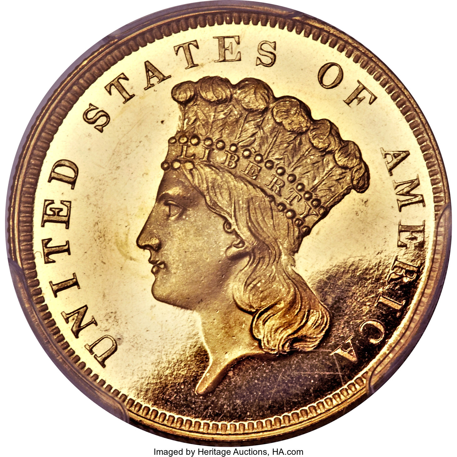 sample image for 1859 $3  PR DCAM
