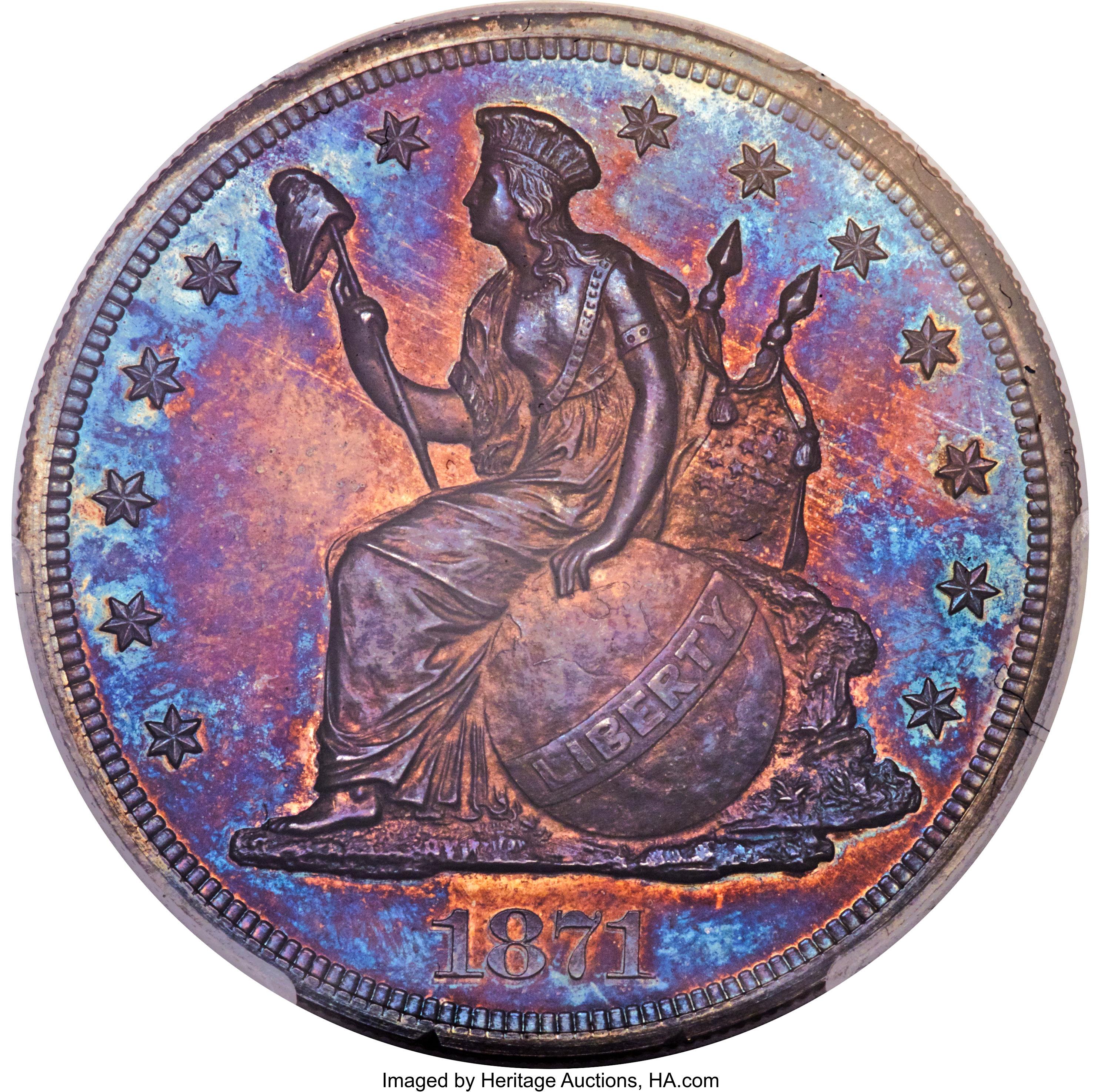 sample image for 1871 P$1 (J-1139) PR