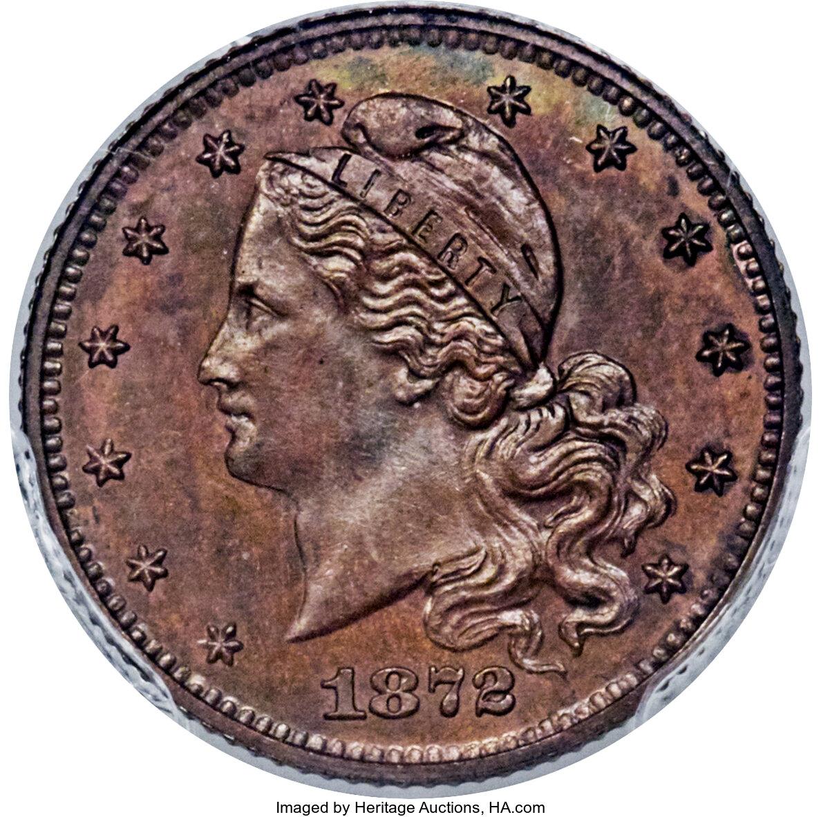 sample image for 1872 G$1 (J-1225) PR BN