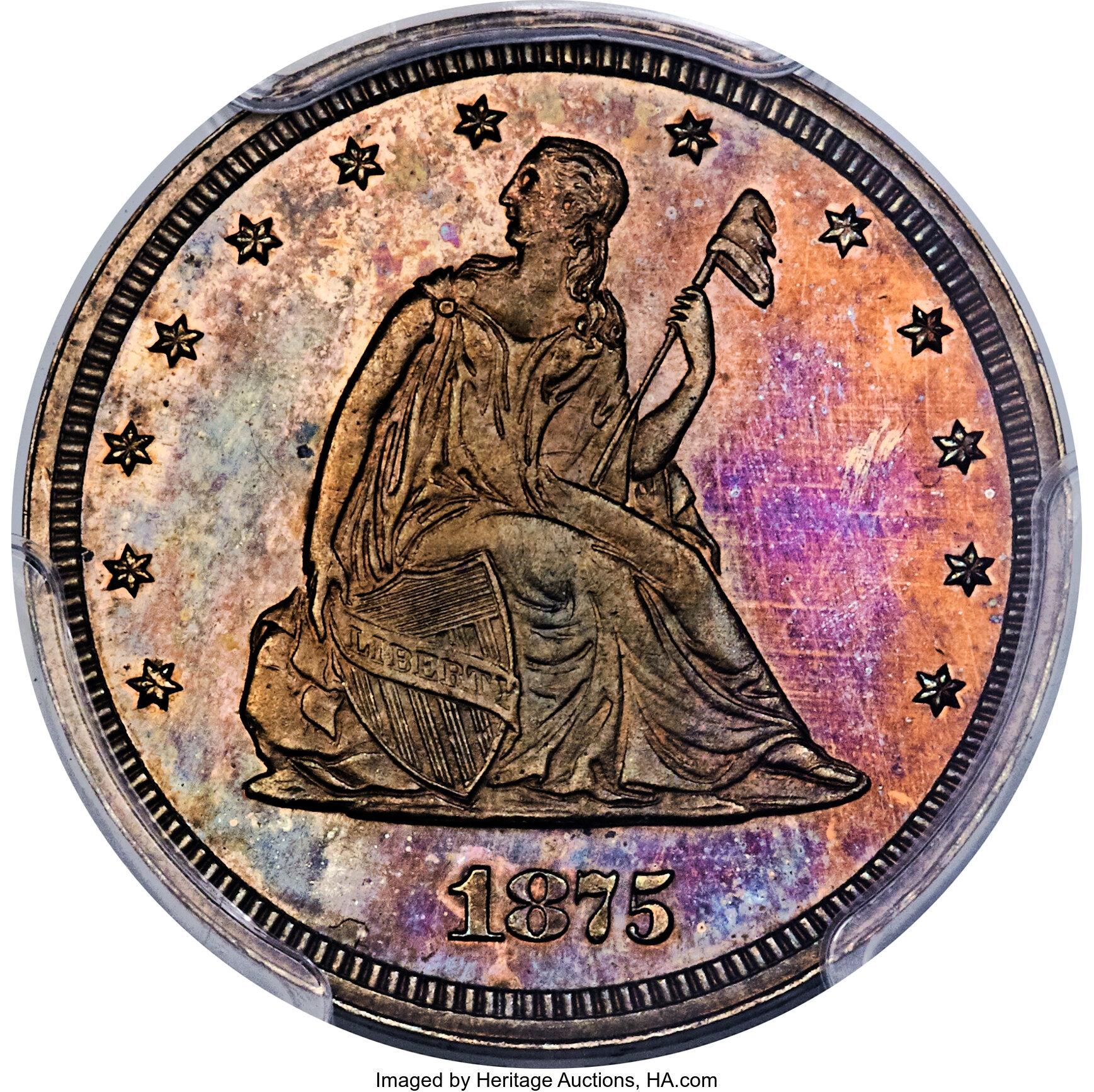 sample image for 1875 P20c (J-1412) PR RB