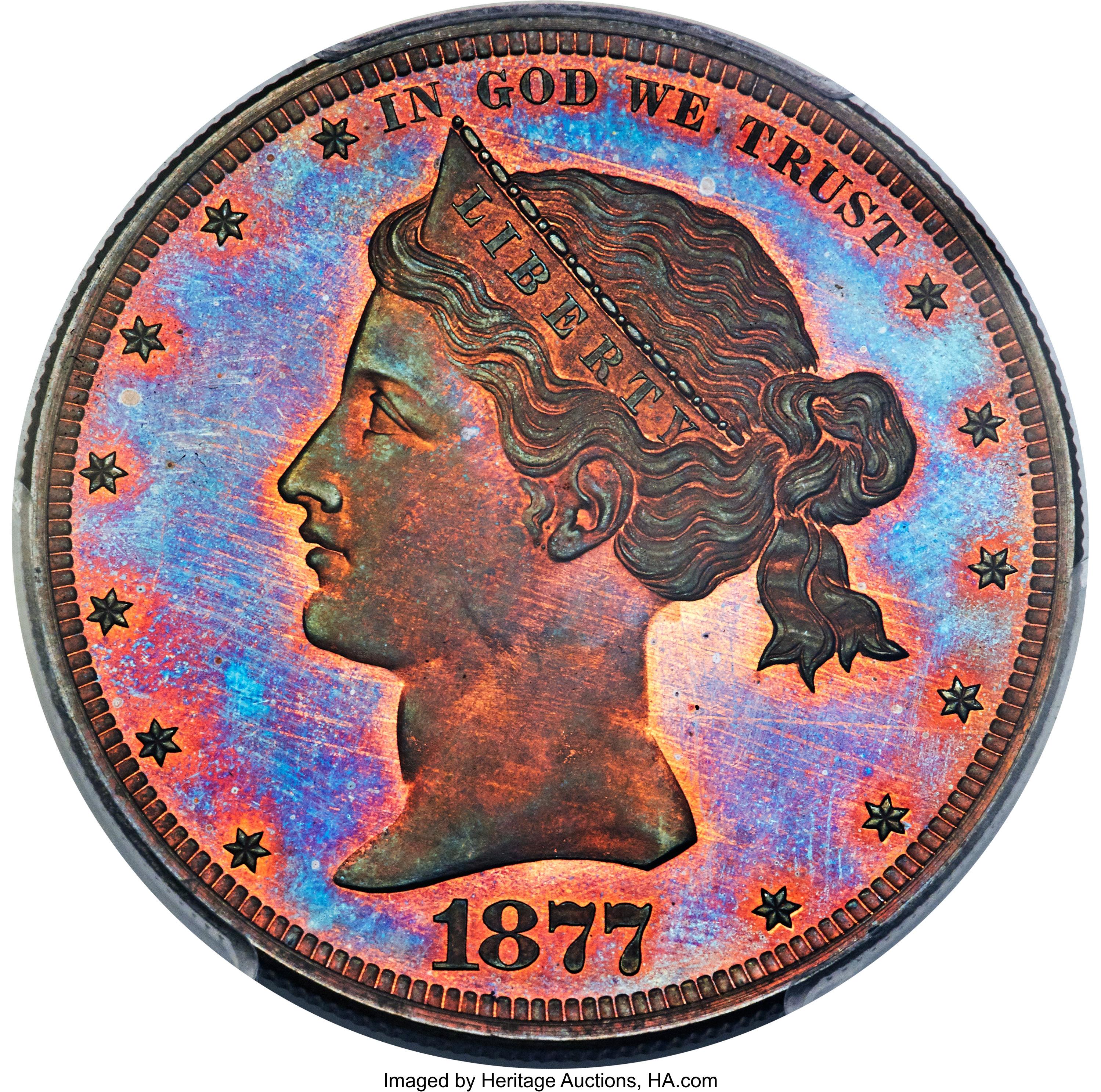 sample image for 1877 J-1542 P$1 PR RB