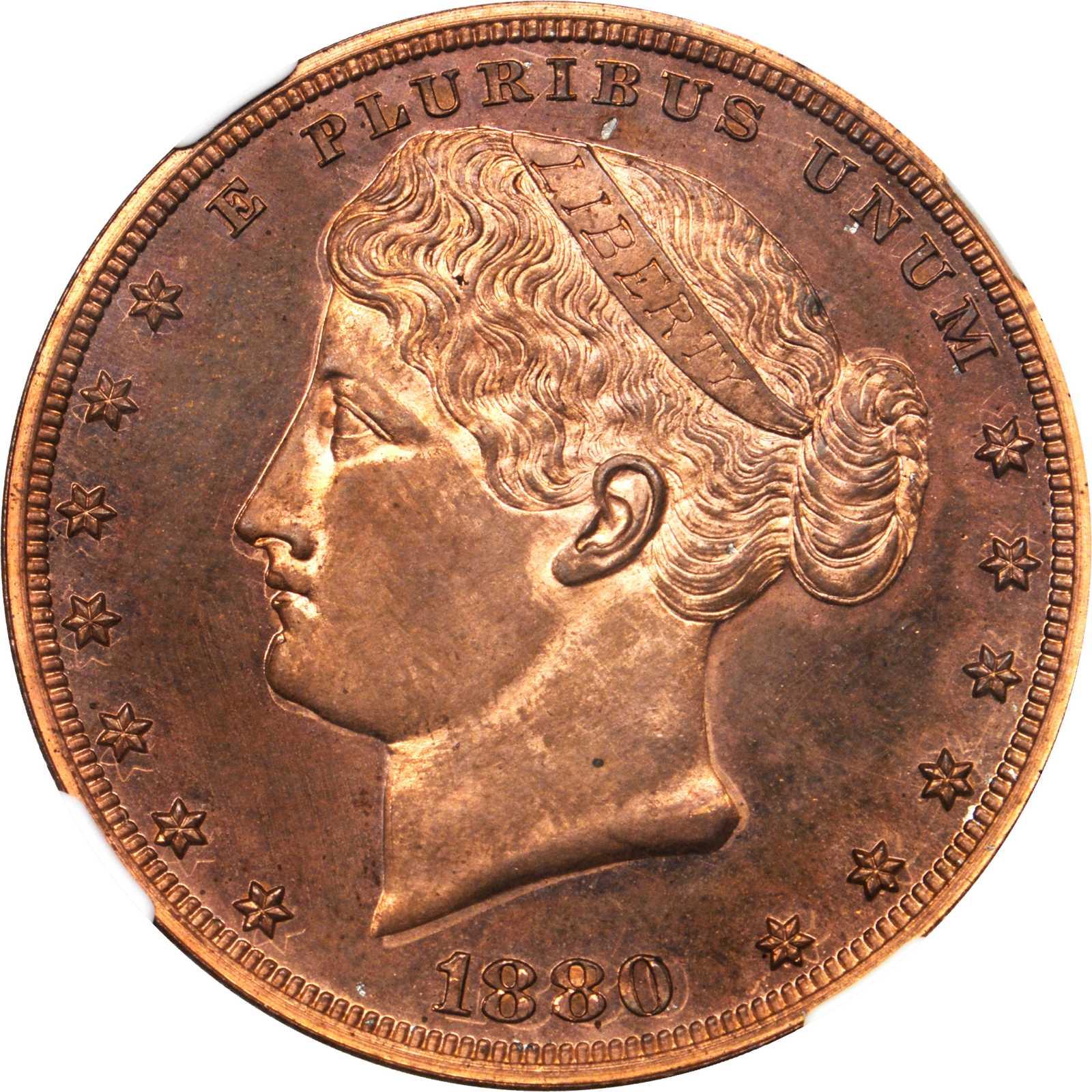sample image for 1880 J-1649 P$1 PR RD