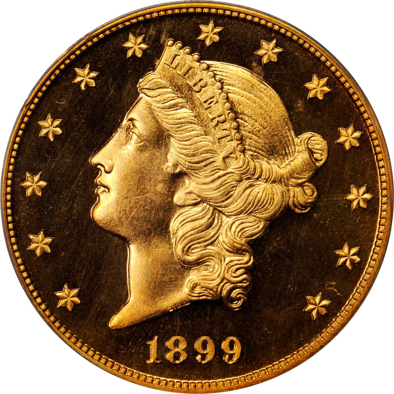 sample image for 1899 $20  PR CAM