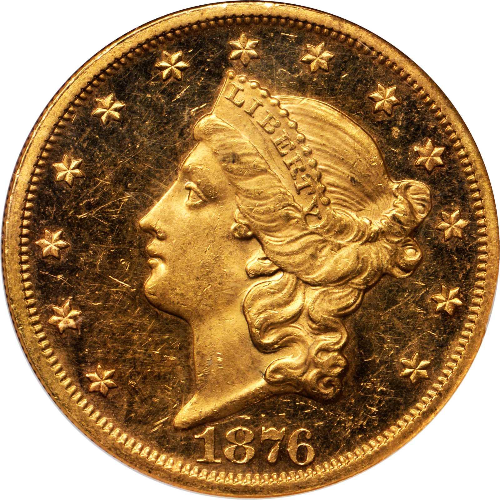 sample image for 1876 $20  PR CAM